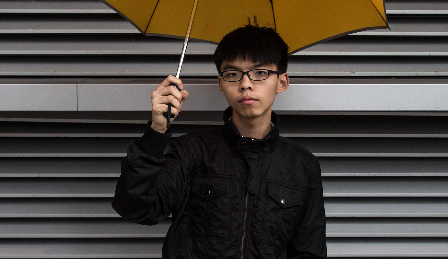 Hong Kong Pro-Democracy Group Scholarism Leader Joshua Wong