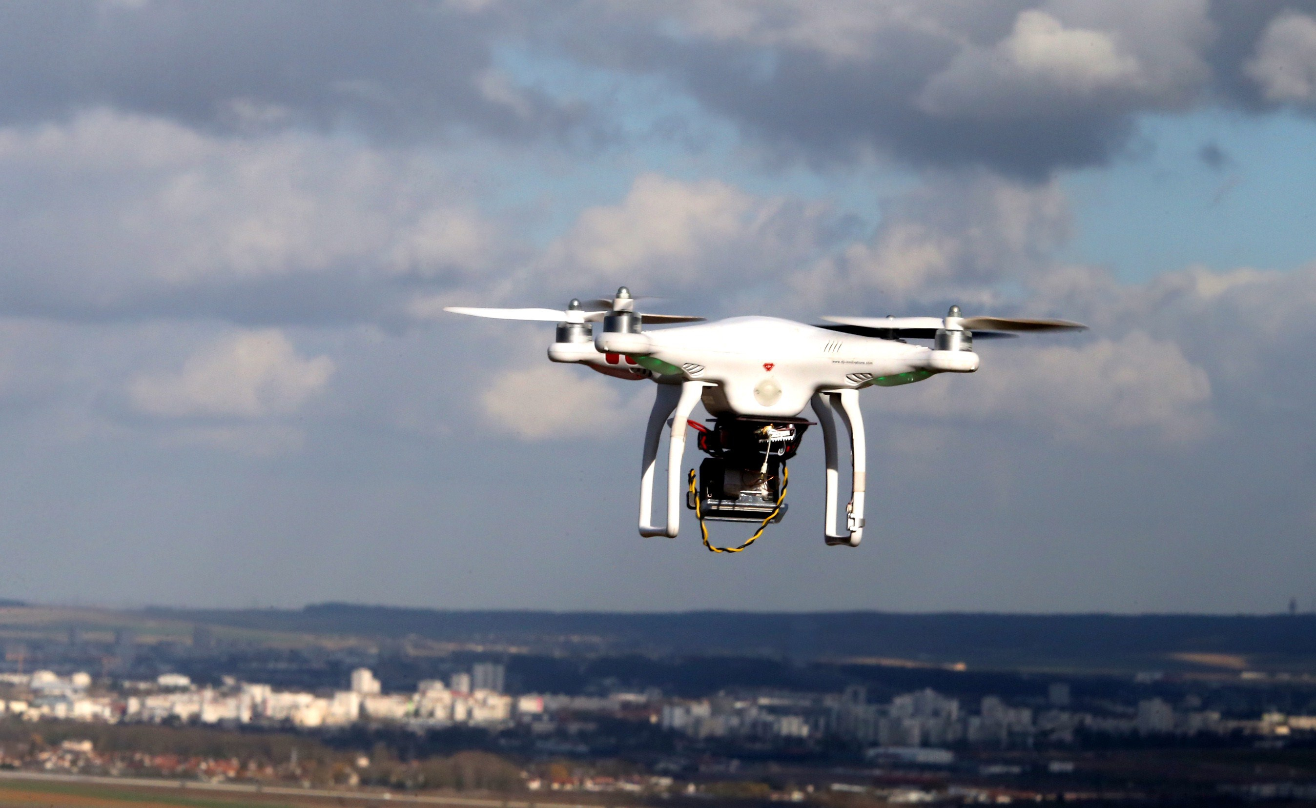 FRANCE-SECURITY-DRONE