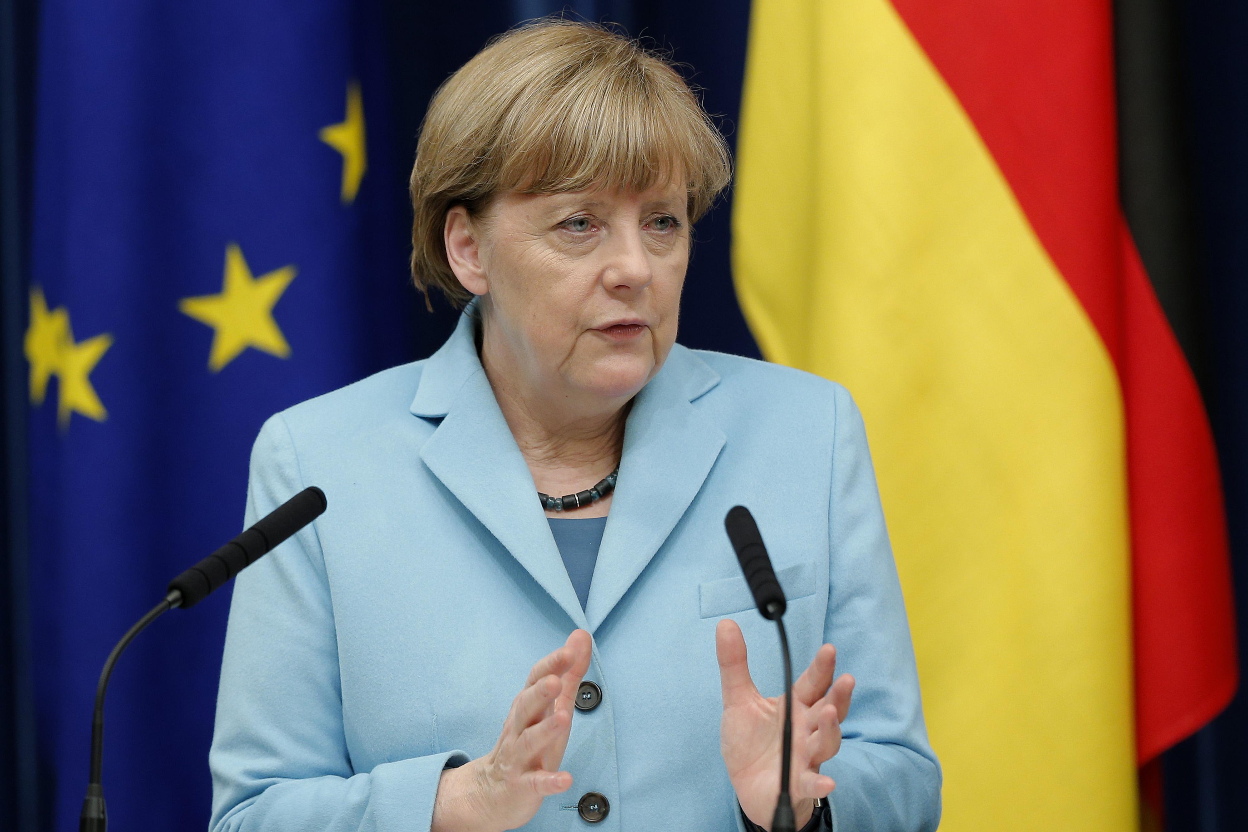 Germany Chancellor Angela Merkel Visits Japan
