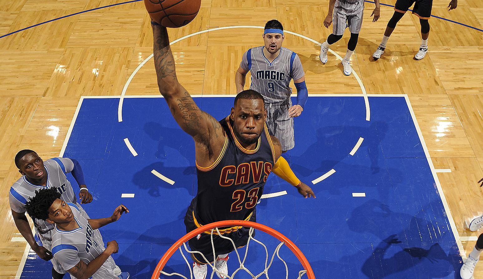 Cleveland Cavaliers v Orlando Magic