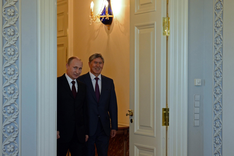 Vladimir Putin - Almazbek Atambayev in Saint Petersburg