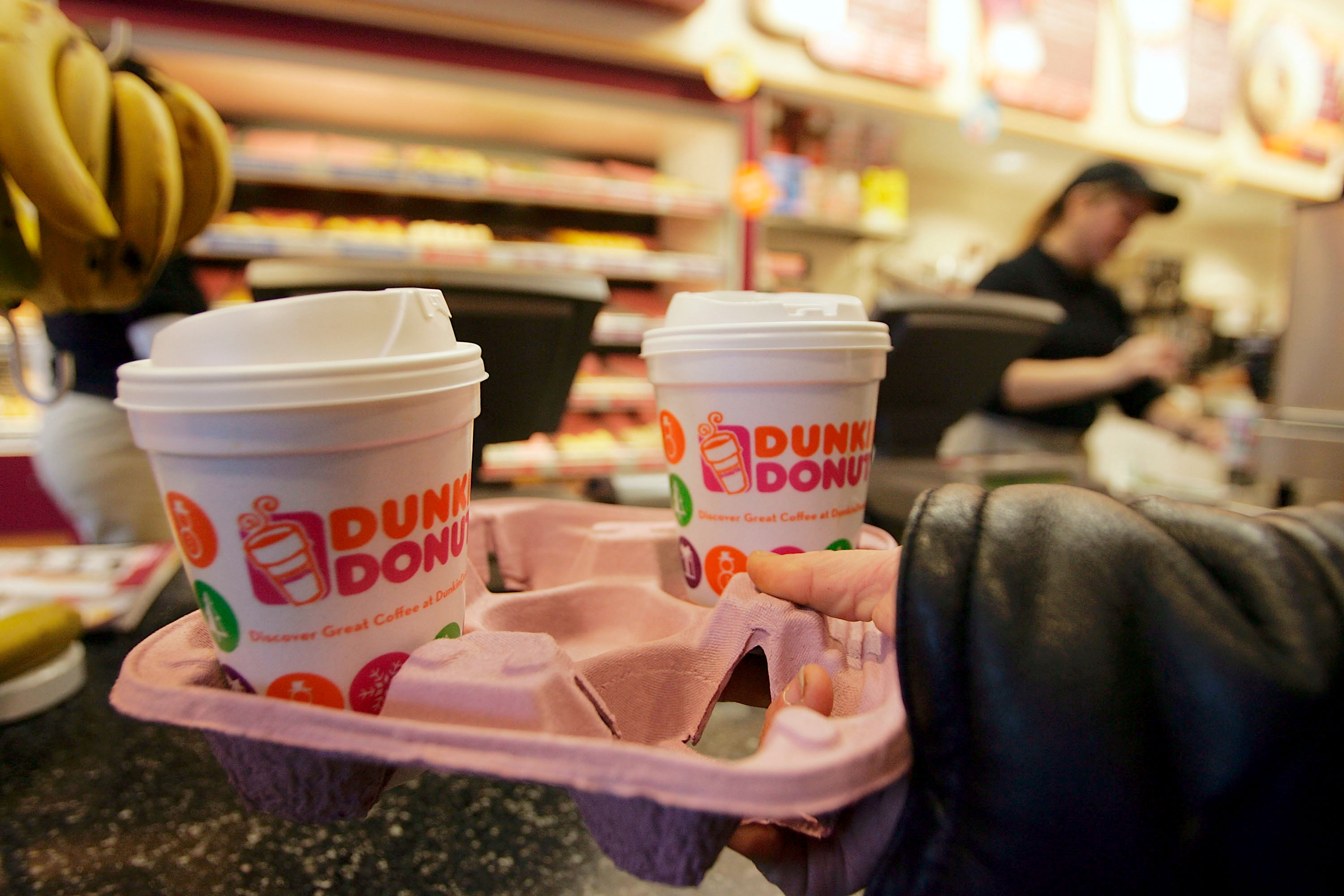 Dunkin' Donuts hints at possible on-demand food delivery test.