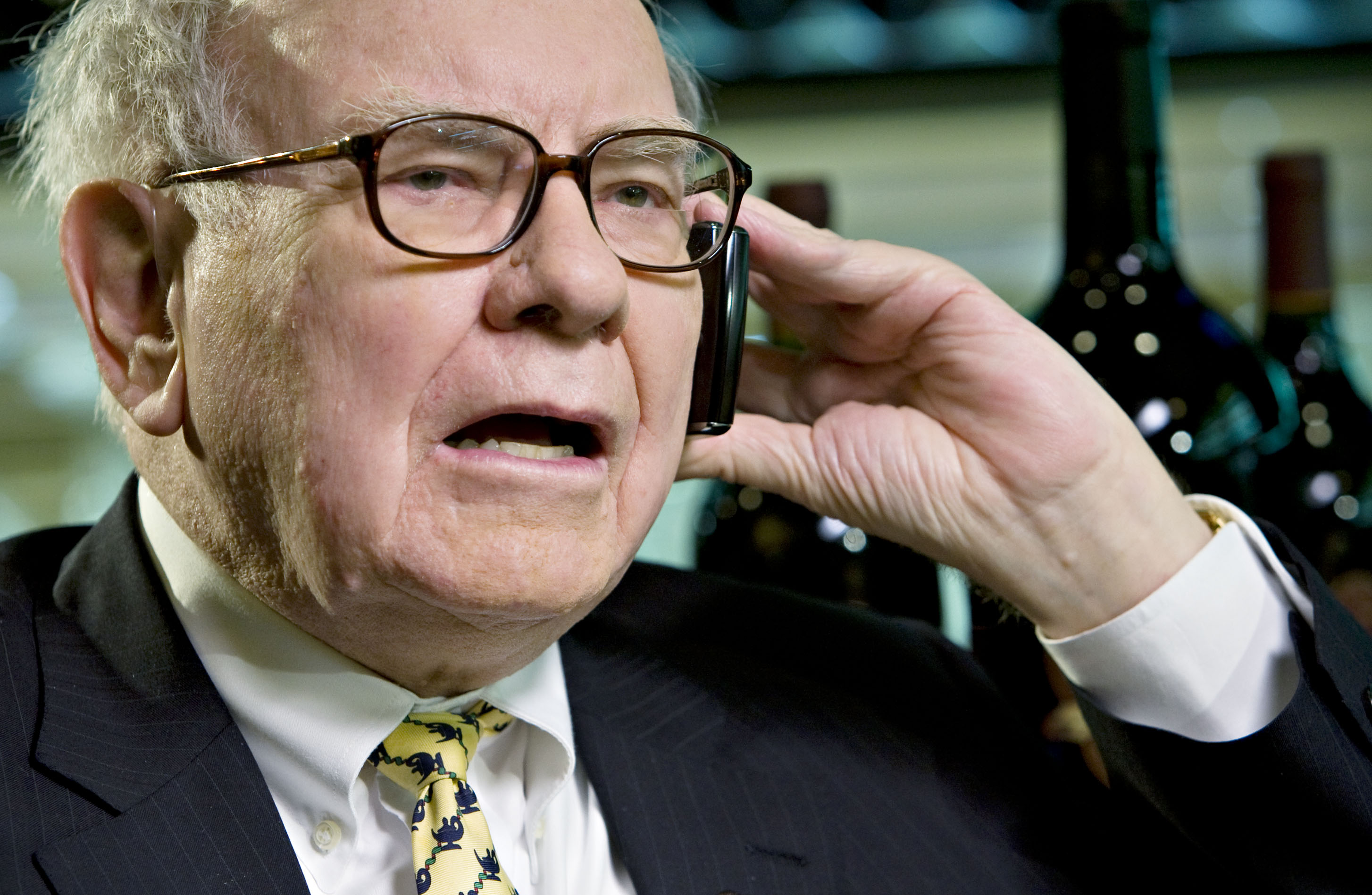 Billionaire investor Warren Buffett, chairman of Berkshire H