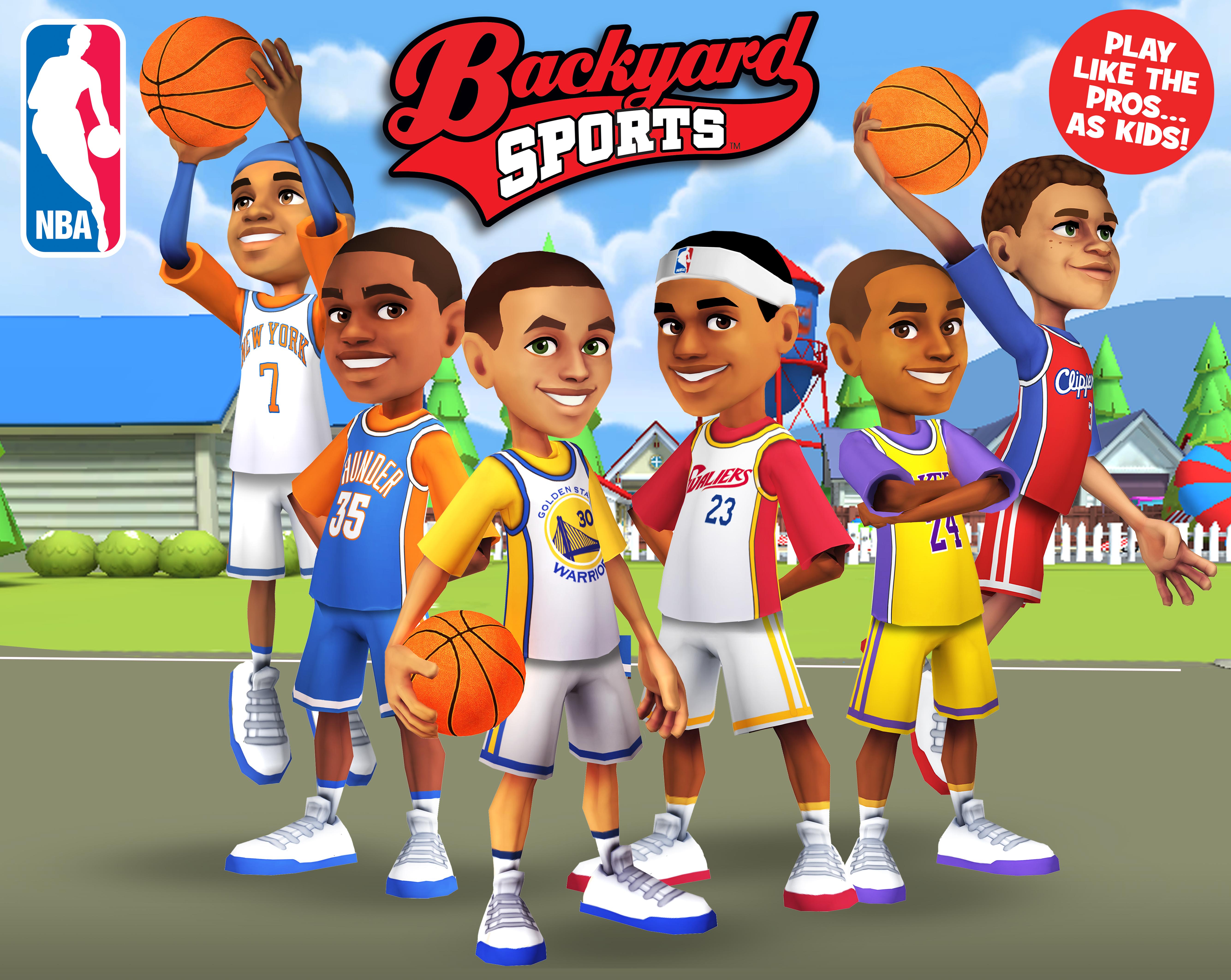 Like Rock Band, New Backyard Sports Mobile Games Let Kids