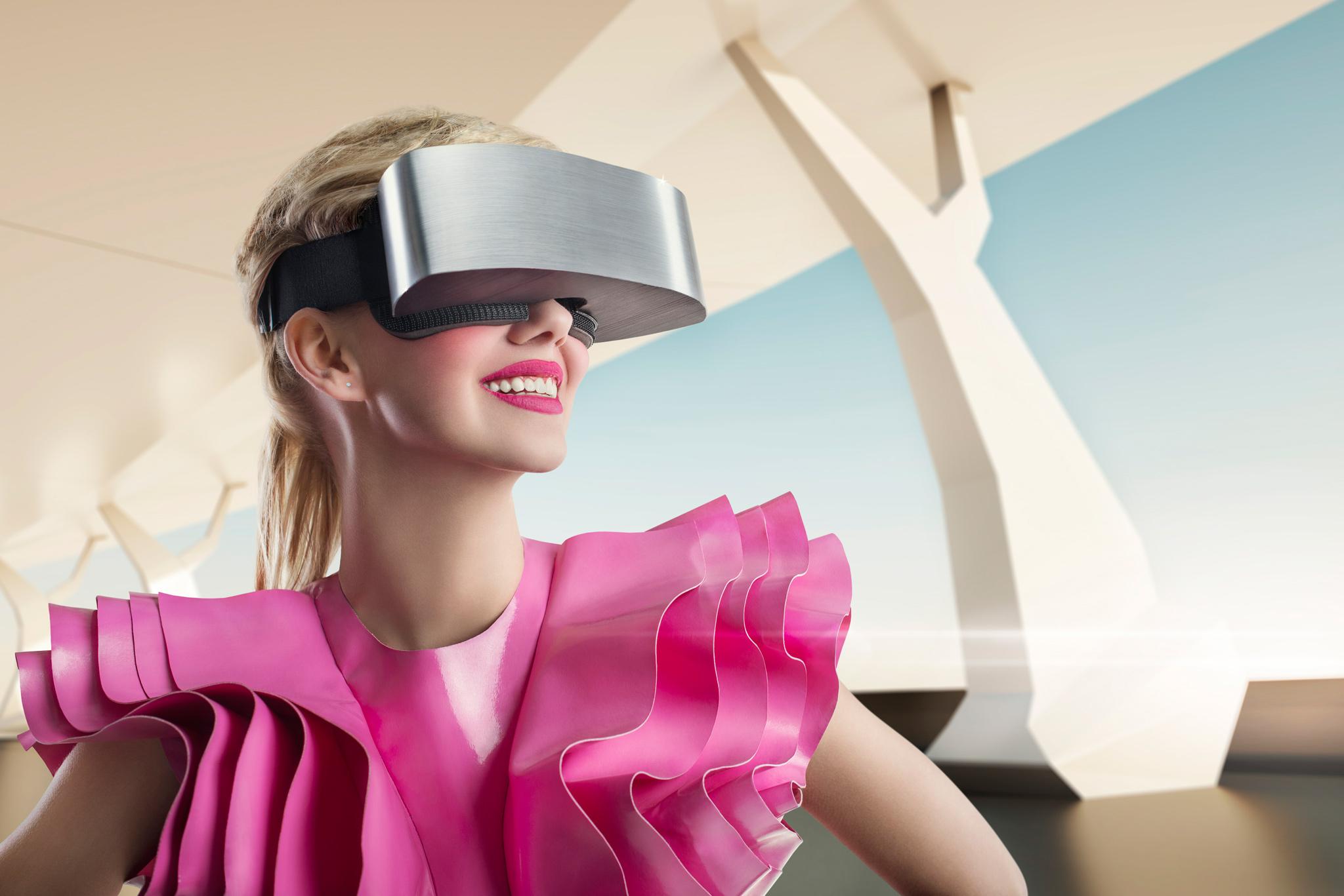 VR Union Claire headset