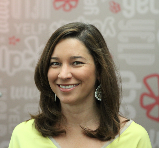 Erica Galos Alioto, vice president of local sales at Yelp