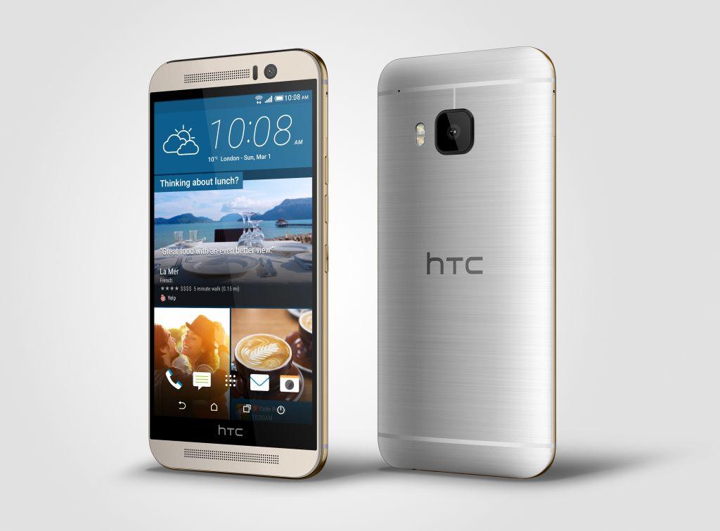 HTC's One M9.