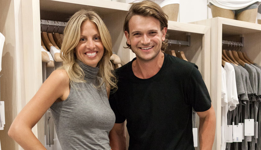Shannon and J.J. Wilson, the wife and son of Lululemon's founder, are behind a new apparel line called Kit and Ace.