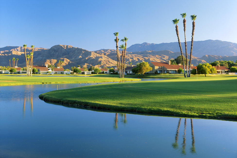 ClubCorp's Mission Hills Country Club in California offers tennis, a spa, and three 18-hole courses.
