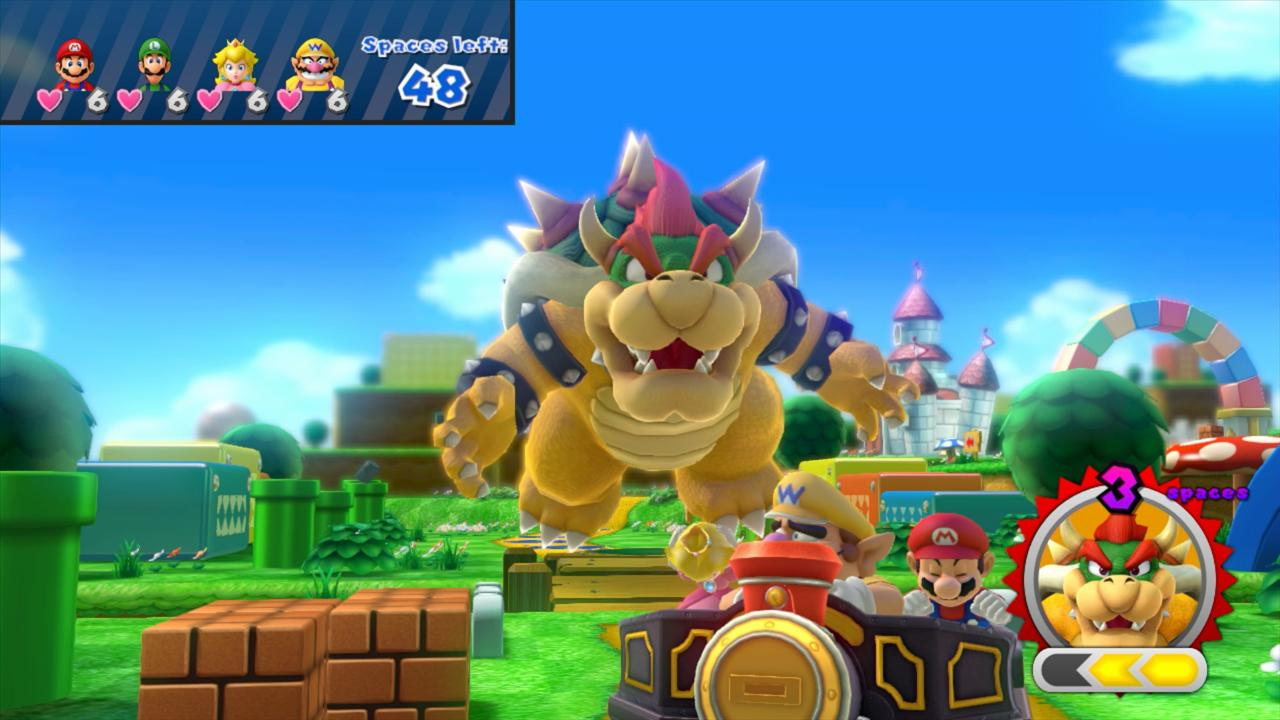 Nintendo's Mario Party 10, as seen on Wii U.