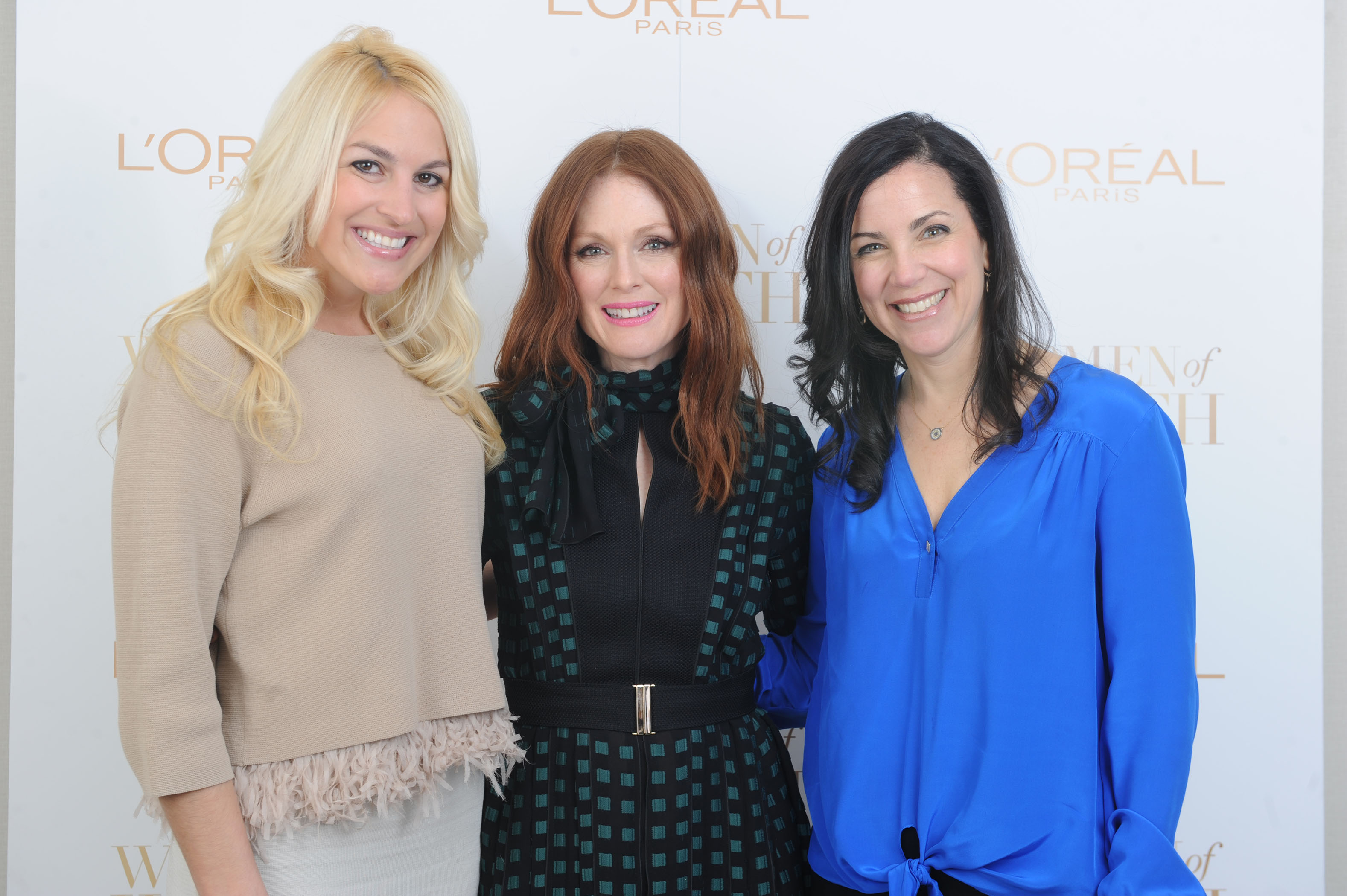 Julianne Moore for Loreal
