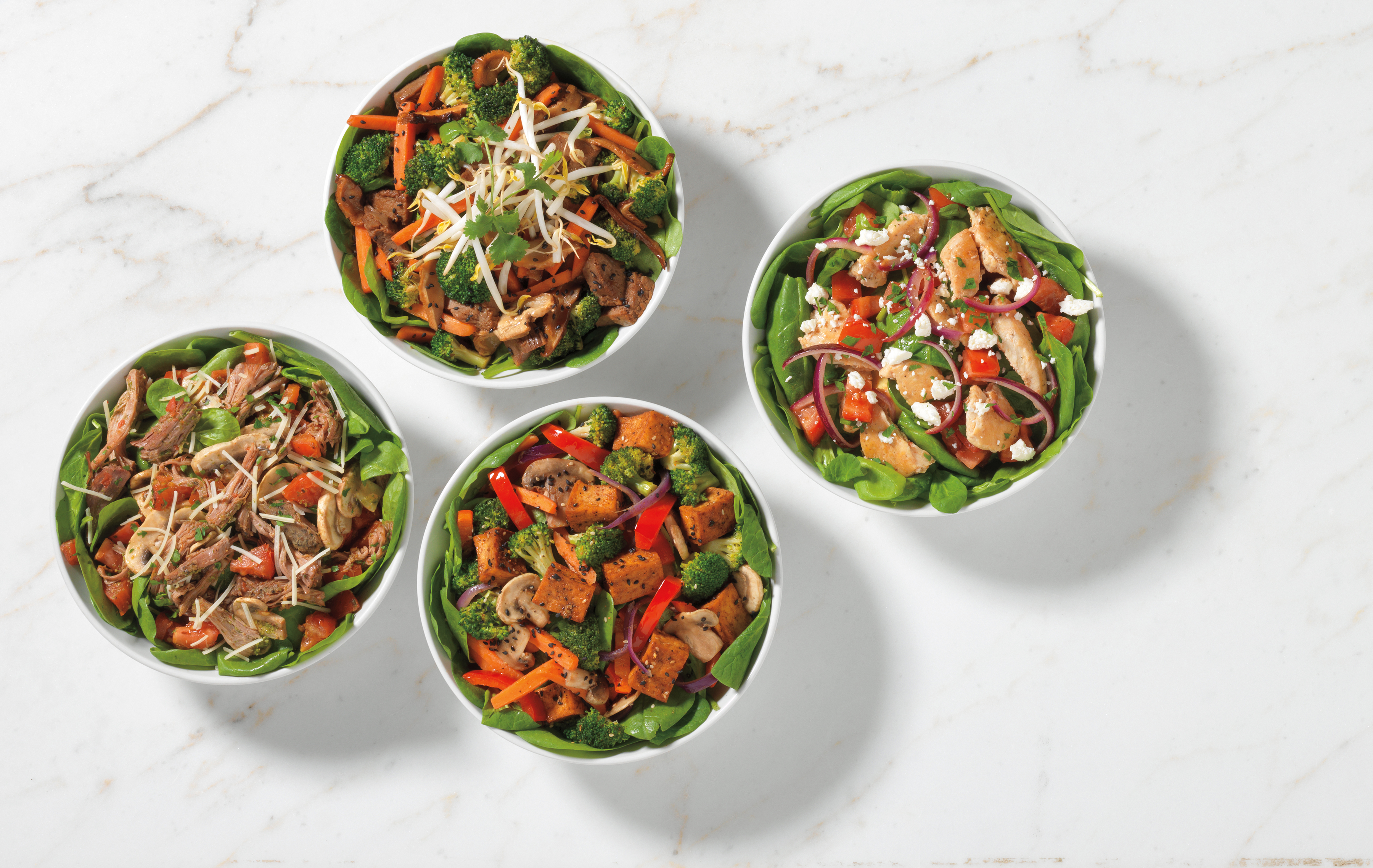 Noodles & Co.'s newest menu options are packed with protein and vegetables — and without the noodles.