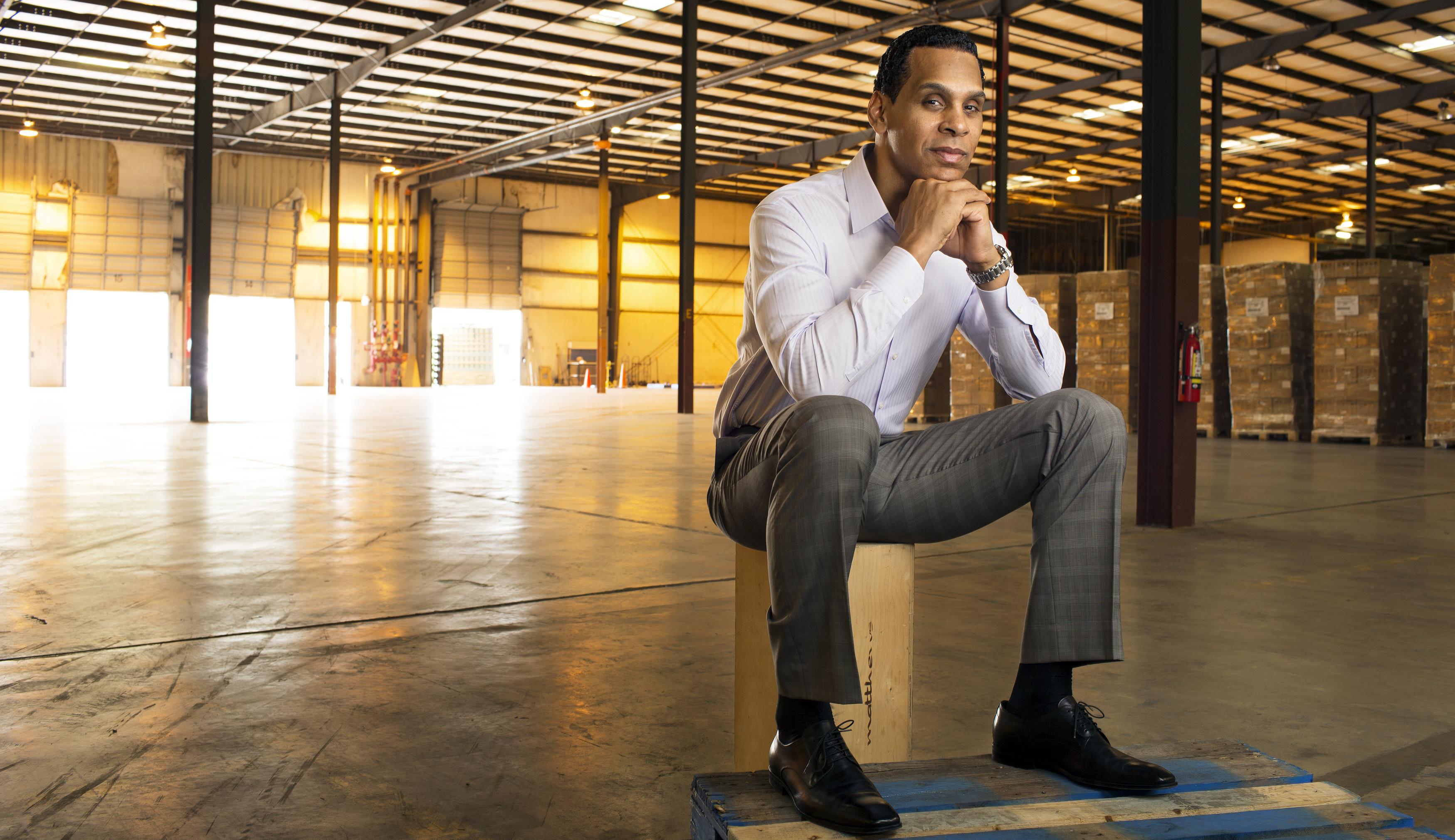 Portrait: Tony McGeePortrait For SI and FortuneIn a warehouse in Orlando, FL/Orlando, FL, USA3/5/2015X159332 TK1Credit: Ben Van Hook