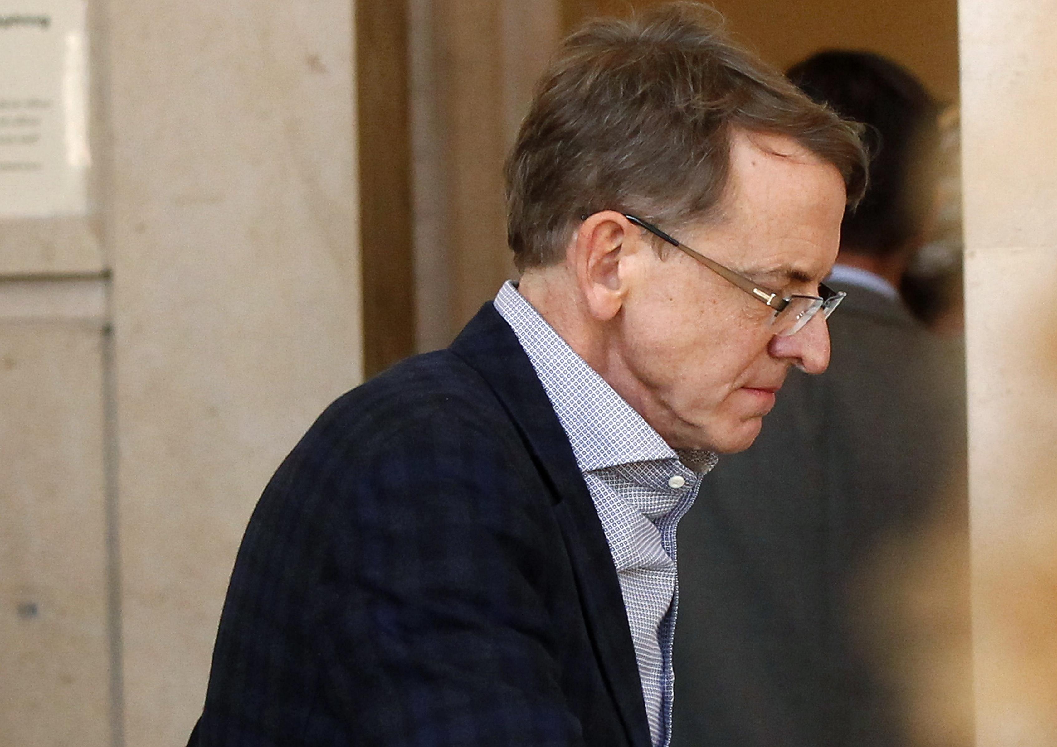Venture capitalist Doerr arrives at San Francisco Superior Court