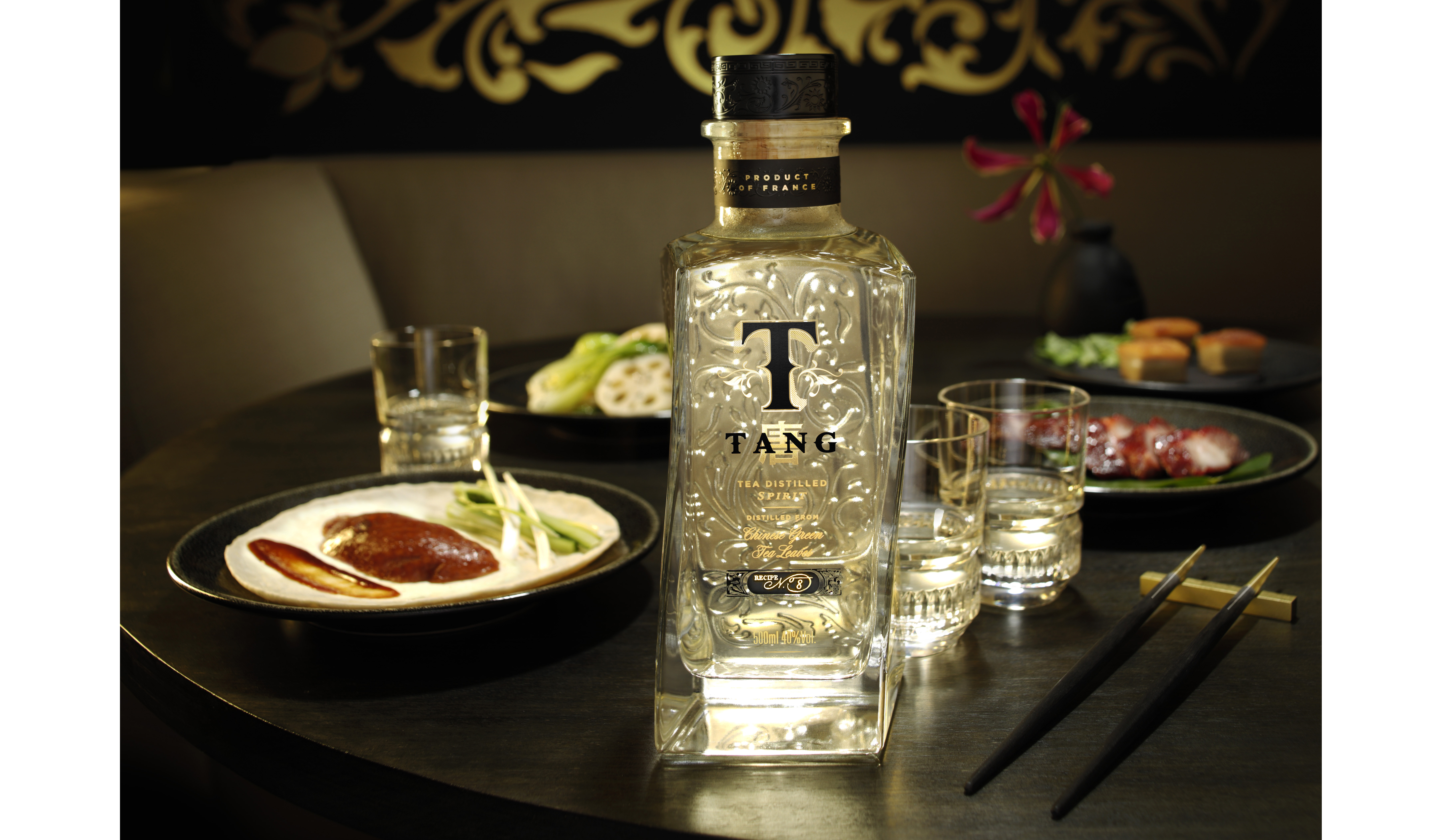 Bacardi is tackling China's alcoholic beverage market with a new spirit distilled from green tea leaves.