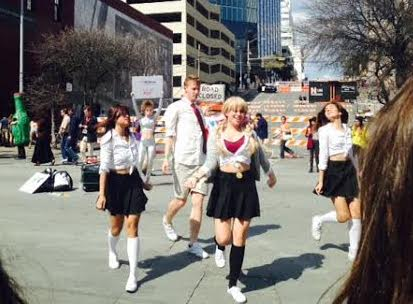"""The """"Britneys"""" at SXSW."""