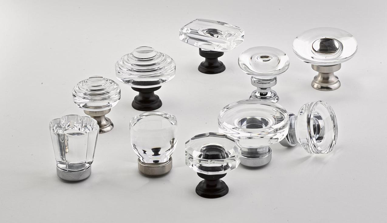 2015 Home trends — Emtek Crystal+Cabinet+Knobs