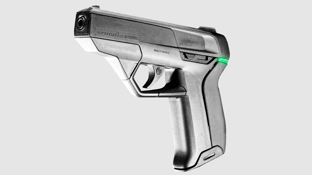 The Armatix iP1 Personalized pistol.