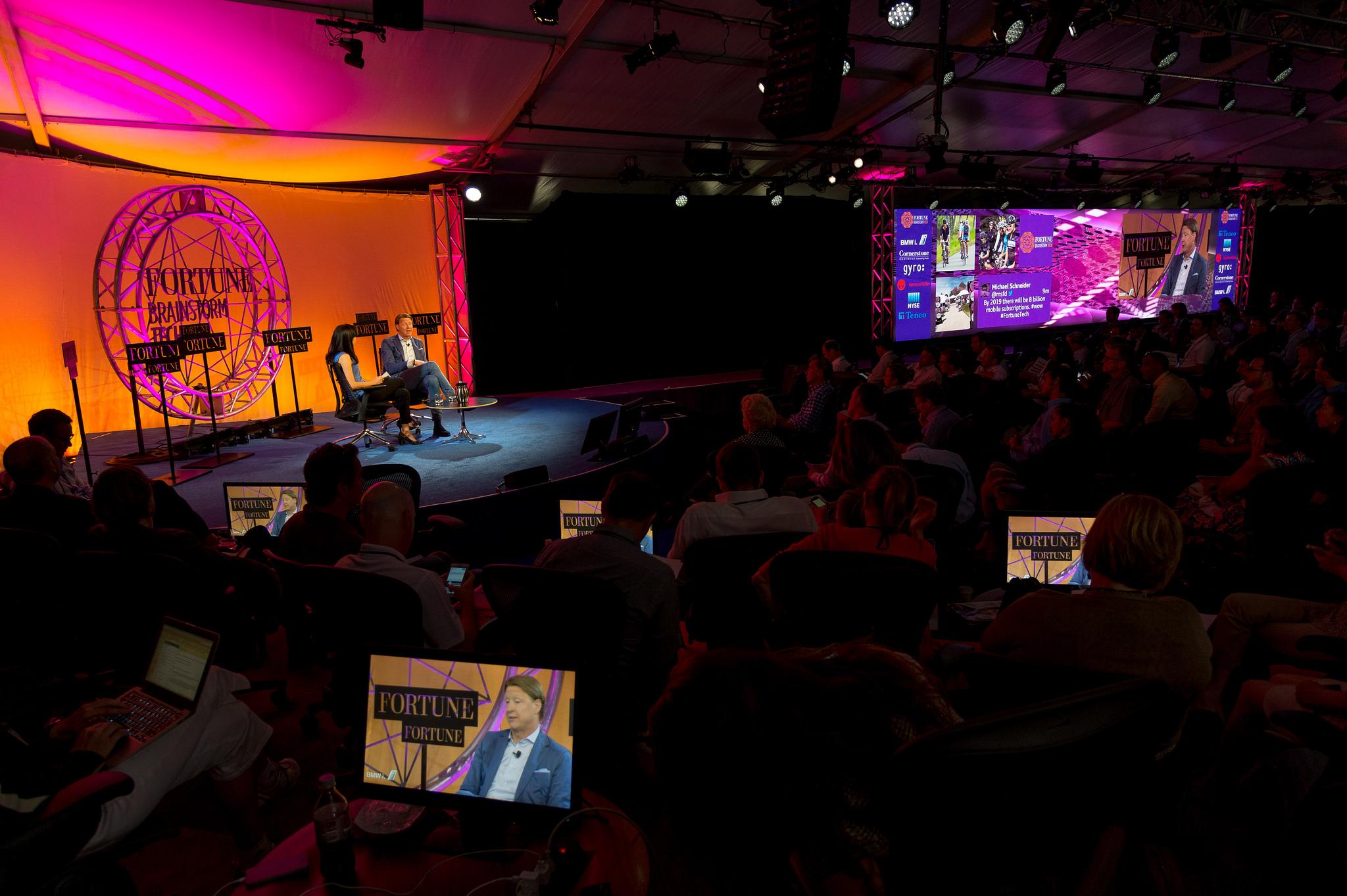 Ericsson CEO Hans Vestberg Michal Lev-Ram Fortune Brainstorm Tech 2014