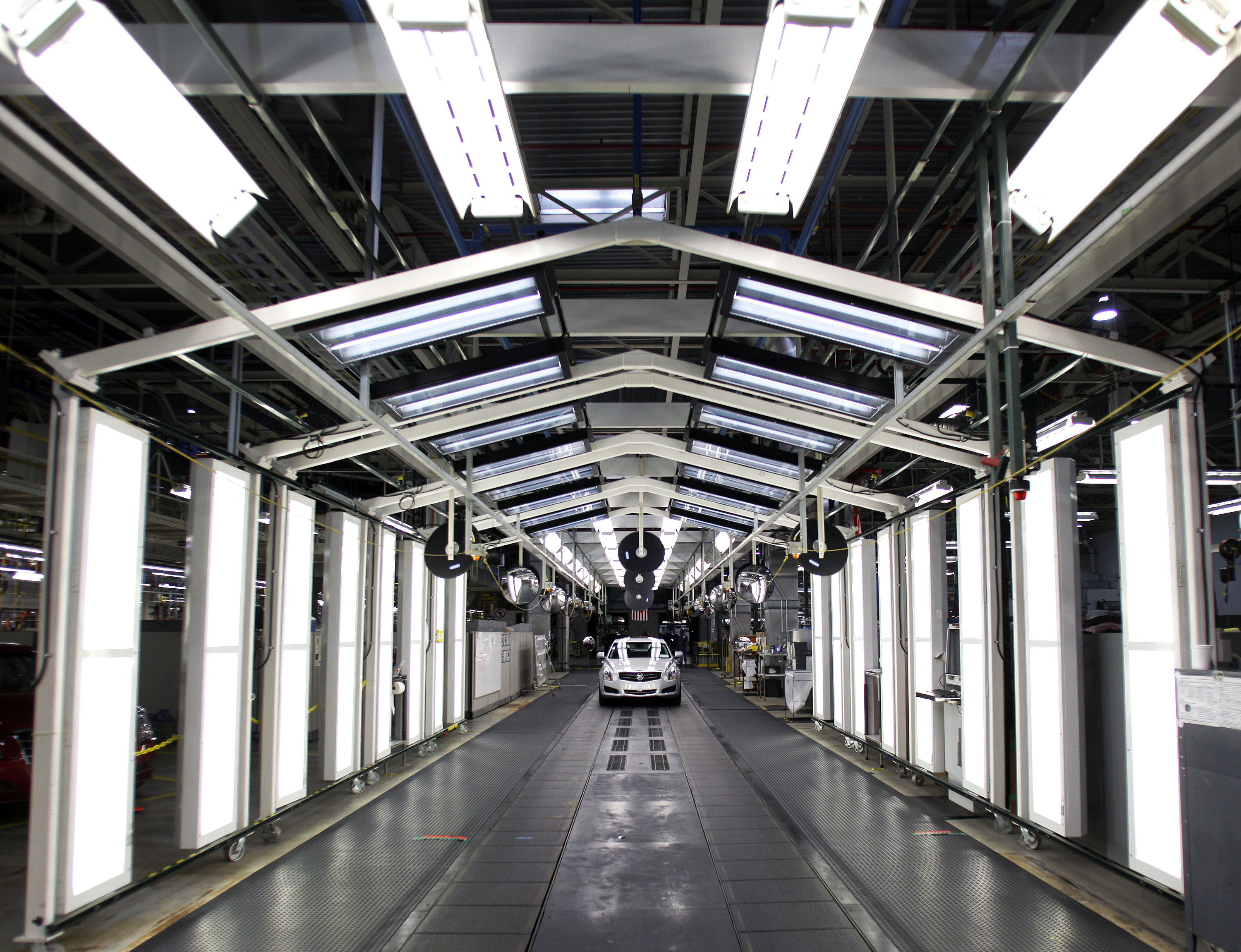 First 2013 Cadillac ATS Rolls Off Assembly Line In Lansing