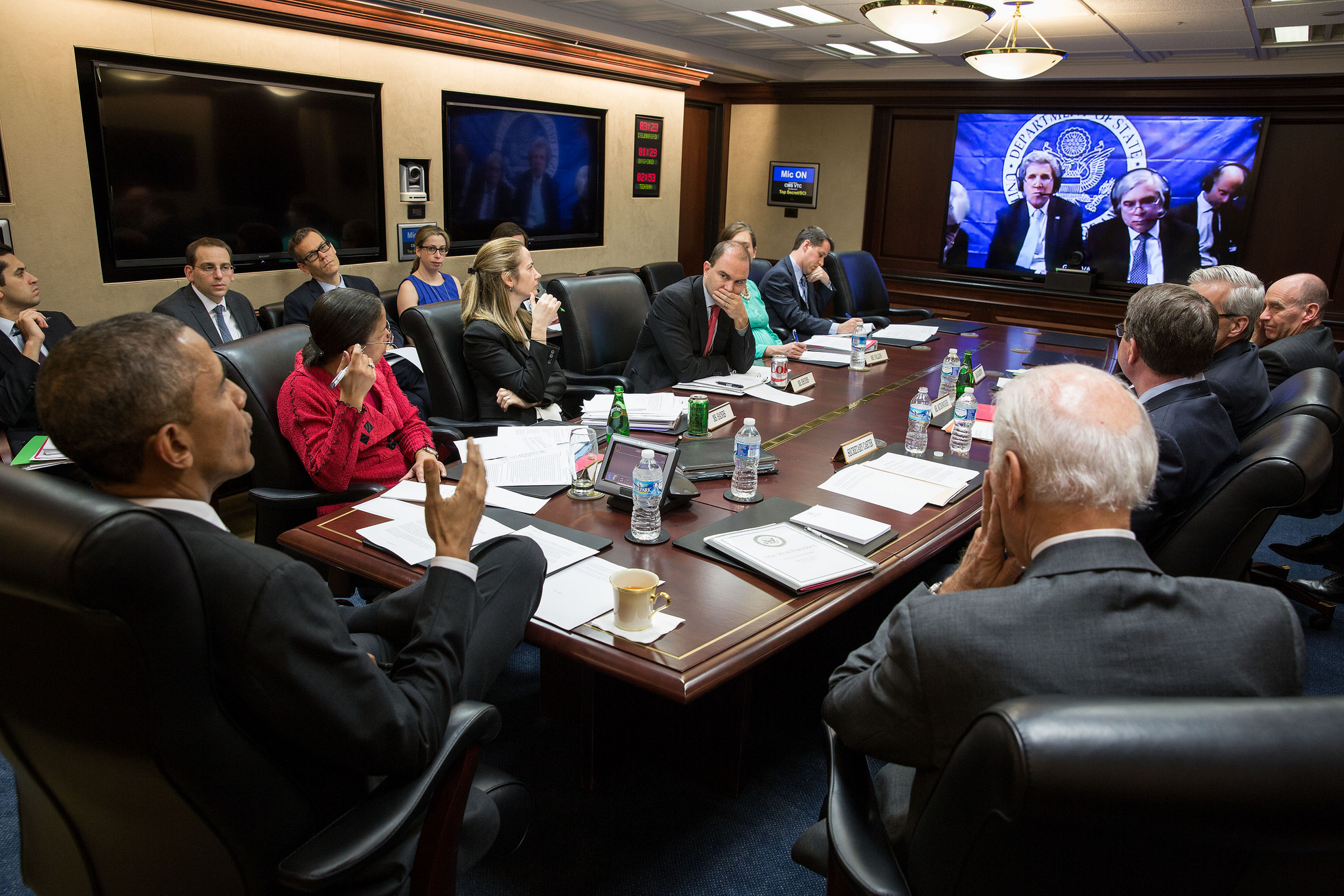 Obama Biden Situation Room 2015