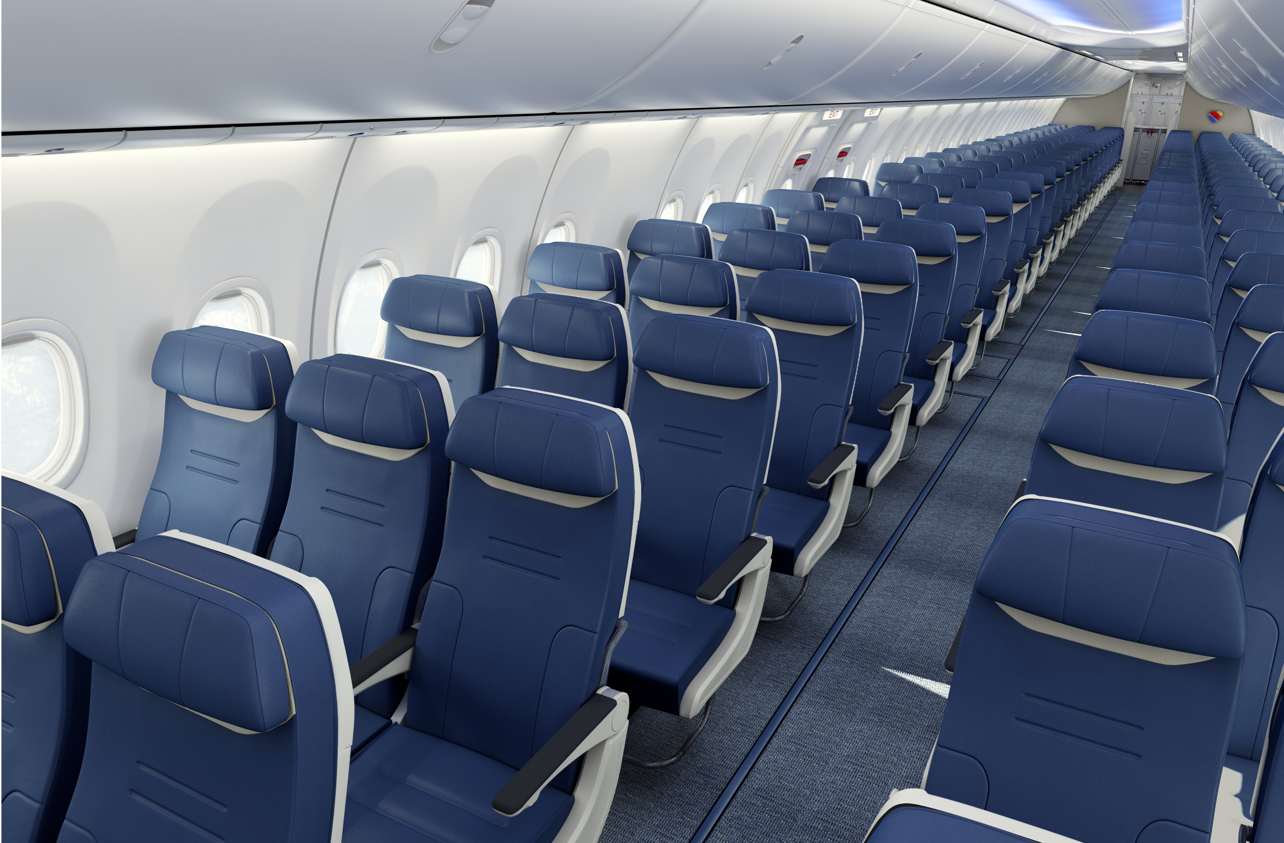 Southwest Airlines' new aircraft seat
