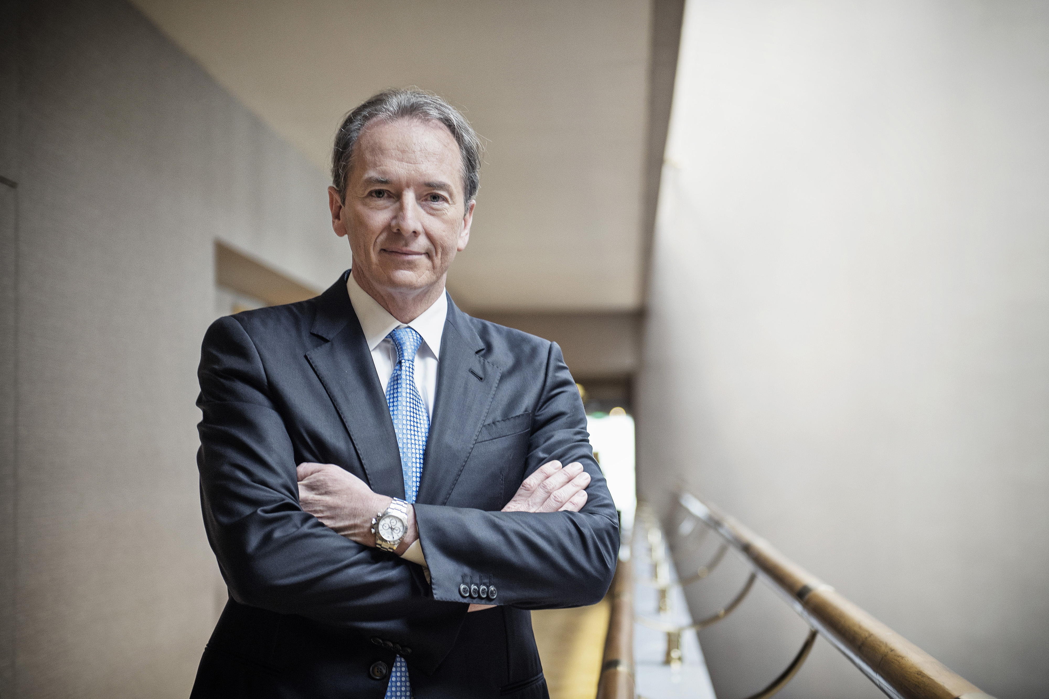 Morgan Stanley Chief Executive Officer James Gorman Interview