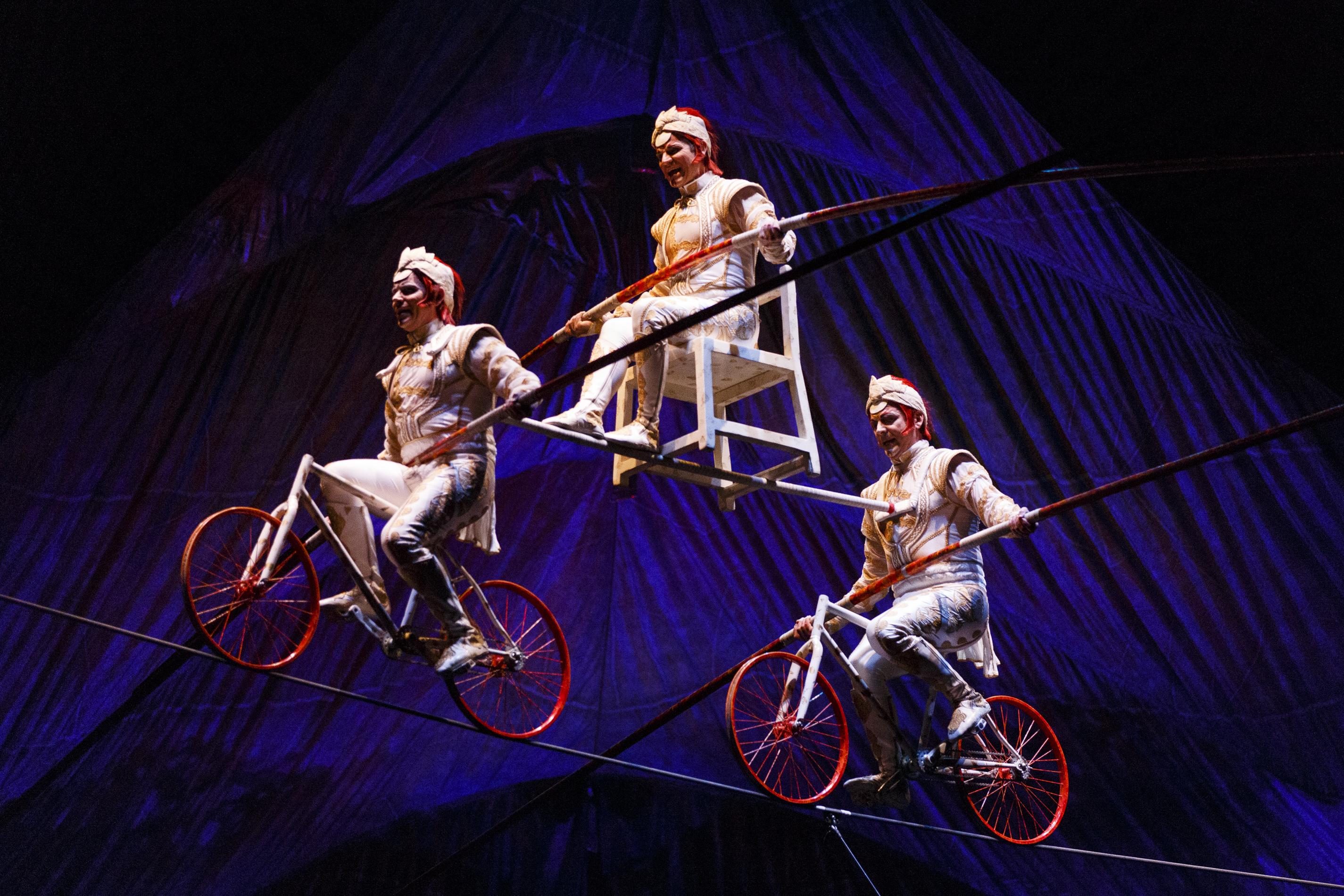 """""""Kooza"""" by Cirque Du Soleil - Dress Rehearsal"""