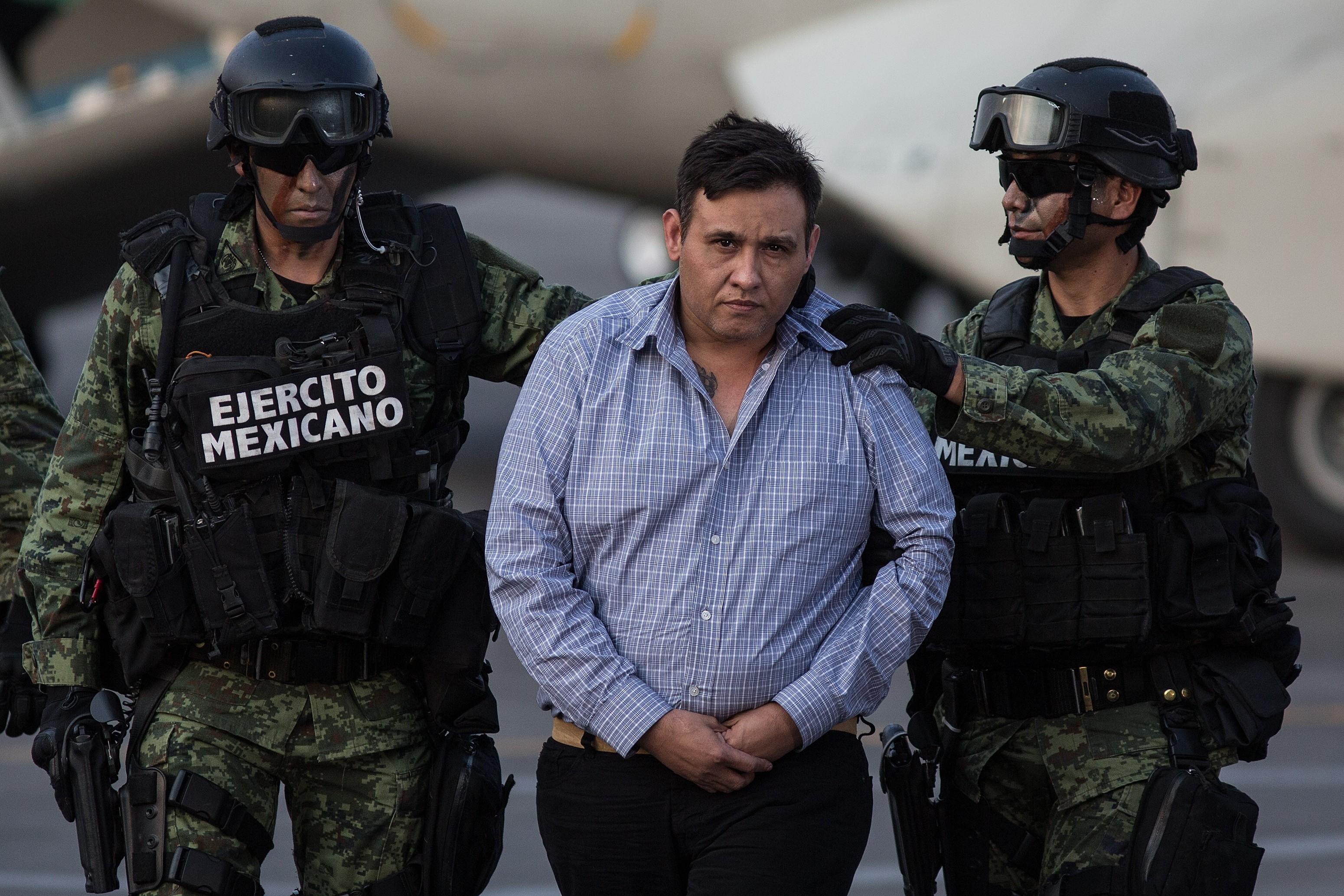 Mexico Capture Los Zetas Drug Cartel Leader