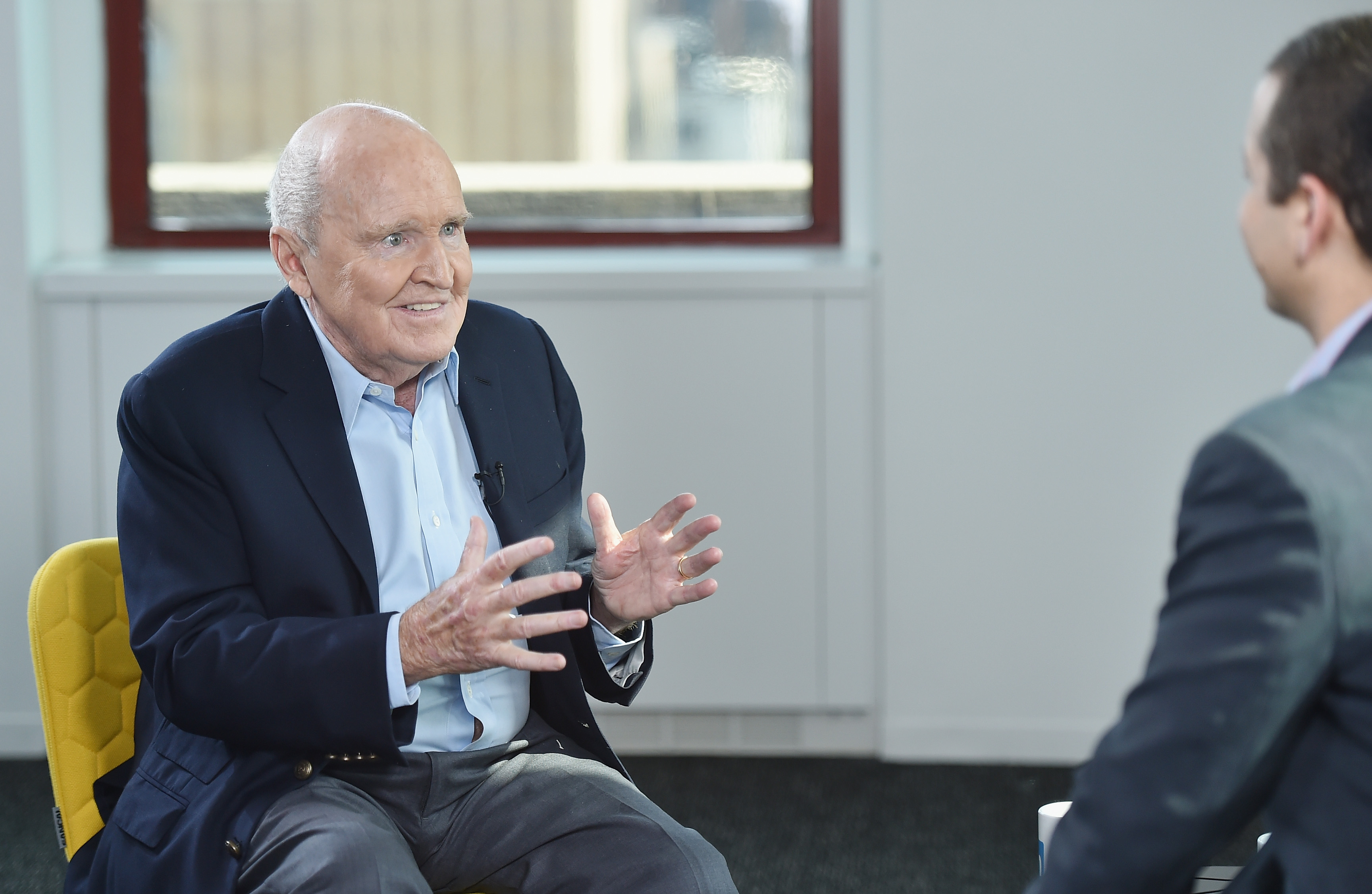 LinkedIn Executive Editor Dan Roth Interviews Jack Welch