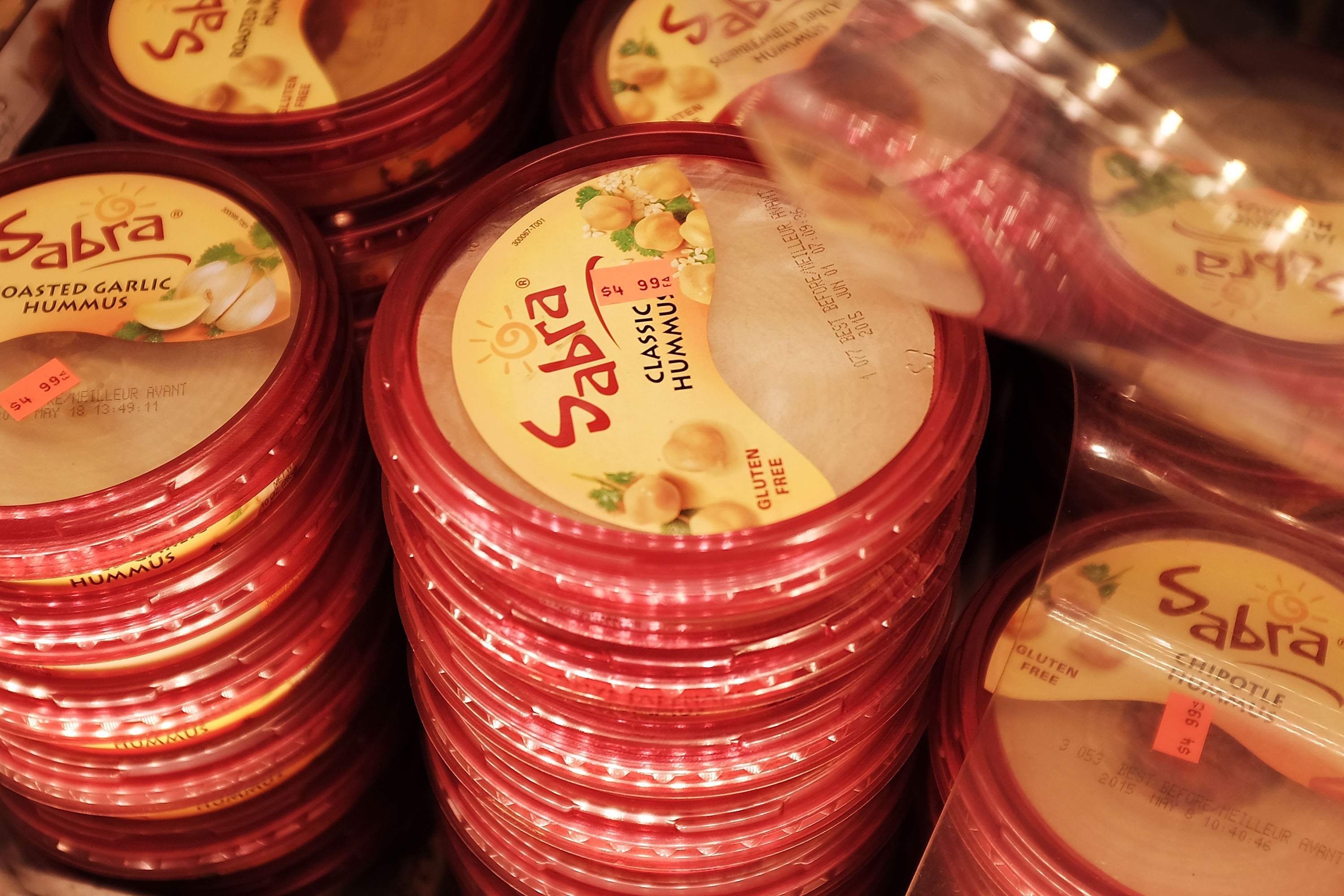 National Recall Prompted Of Thousands Of Sabra Hummus Cases Due To Possible Listeria Contamination