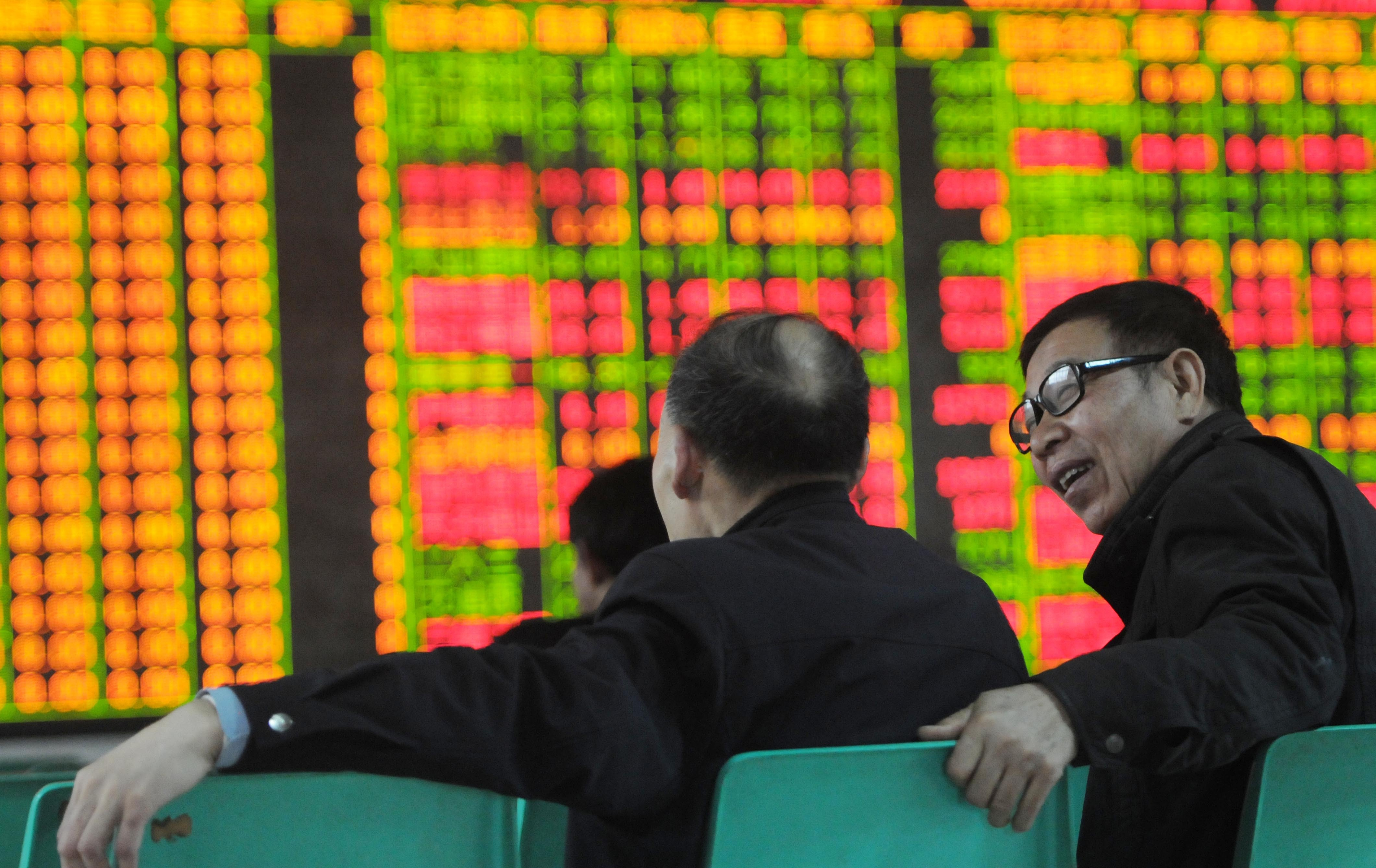 The Shanghai Composite Index Rises 2.2% To 4300 Points