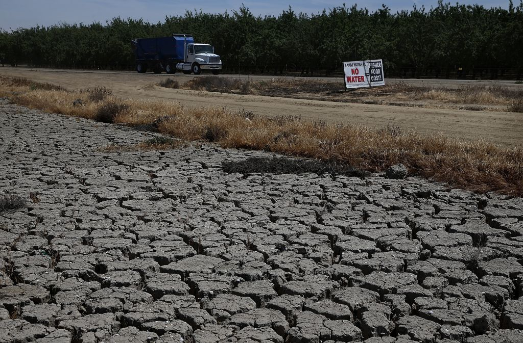California's Central Valley Heavily Impacted By Severe Drought