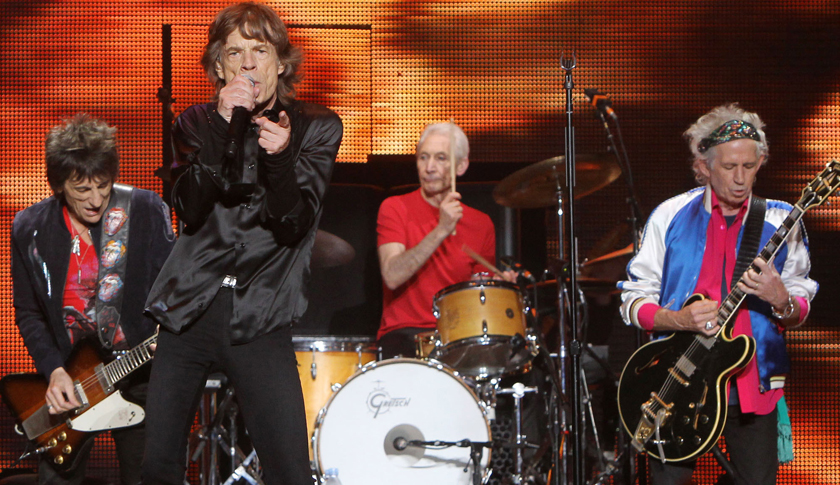 The Rolling Stones Perform In Shanghai