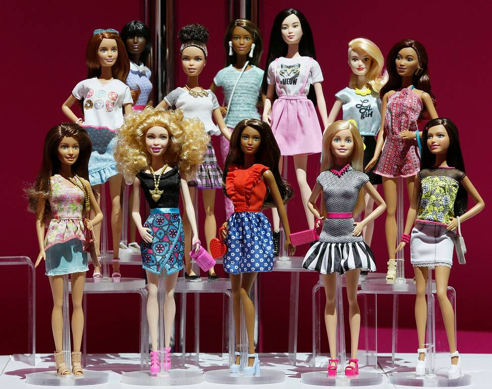 A new line of Barbie dolls sold by Mattel this year will feature greater diversity.