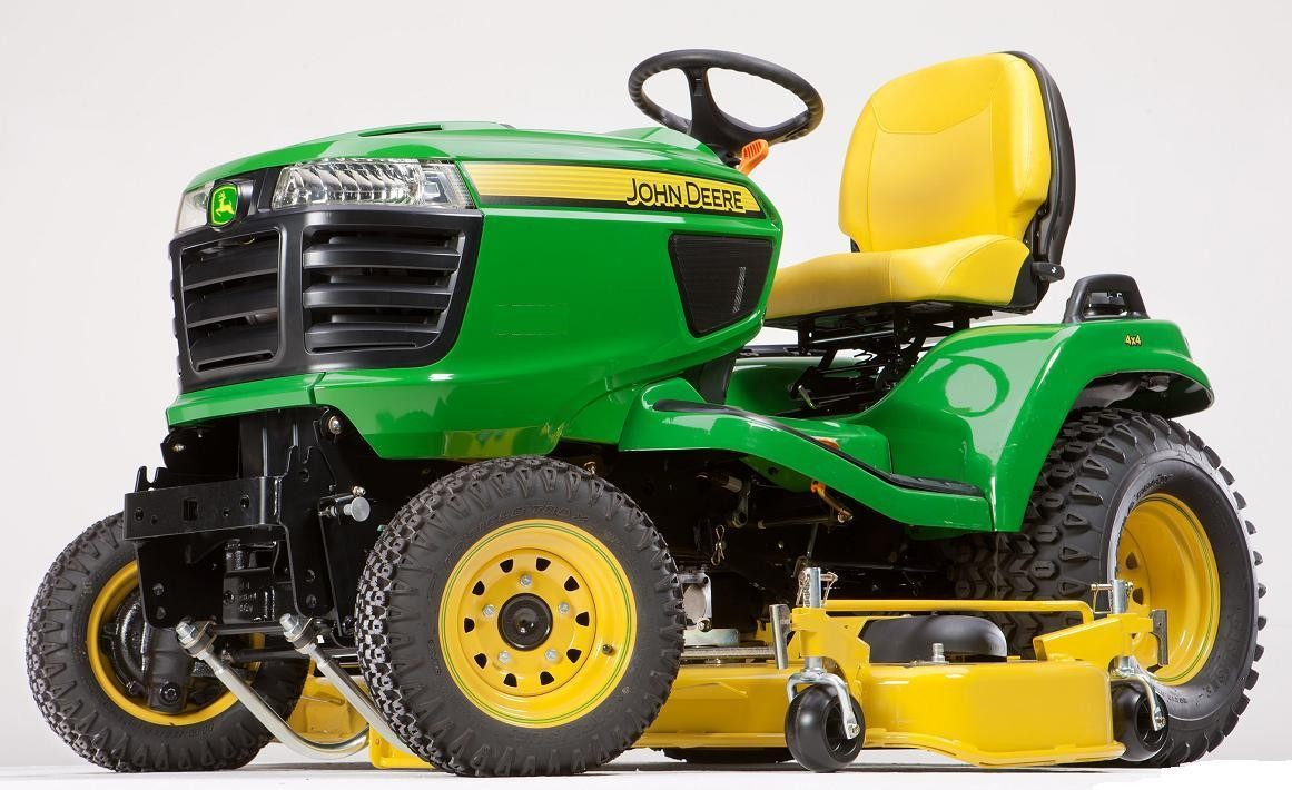 The John Deere X758 Lawn Mower In A Different League Fortune