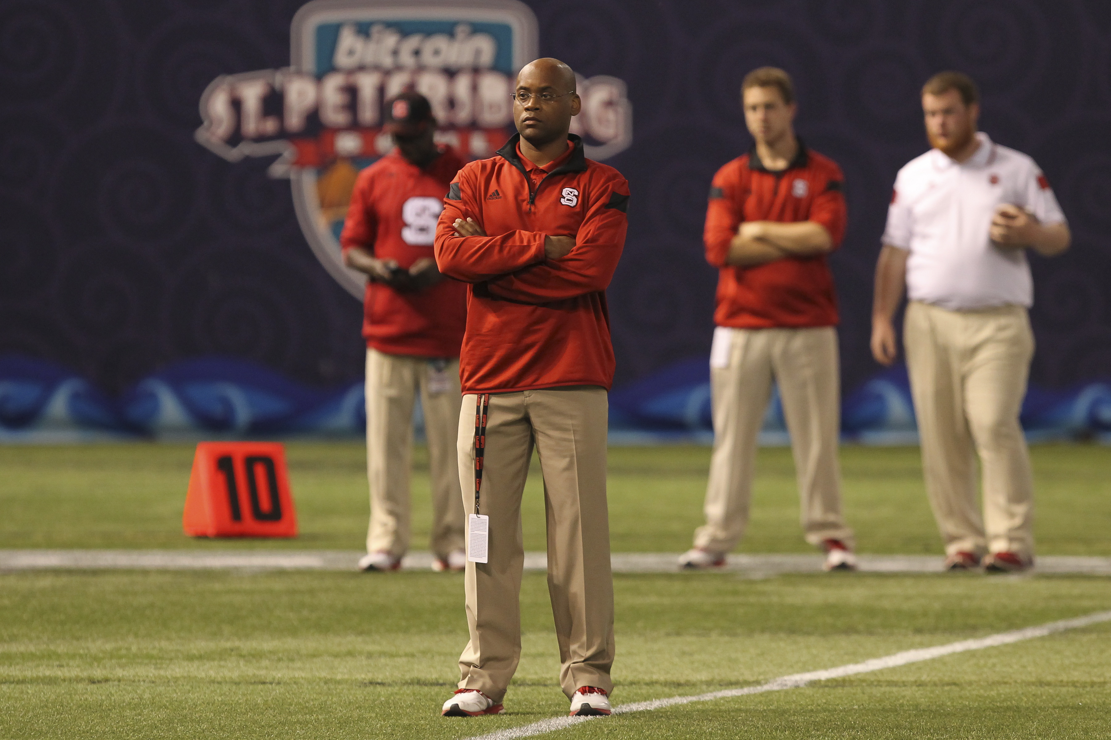 NCAA FOOTBALL: DEC 26 BITCOIN St Petersburg Bowl - NC State v UCF