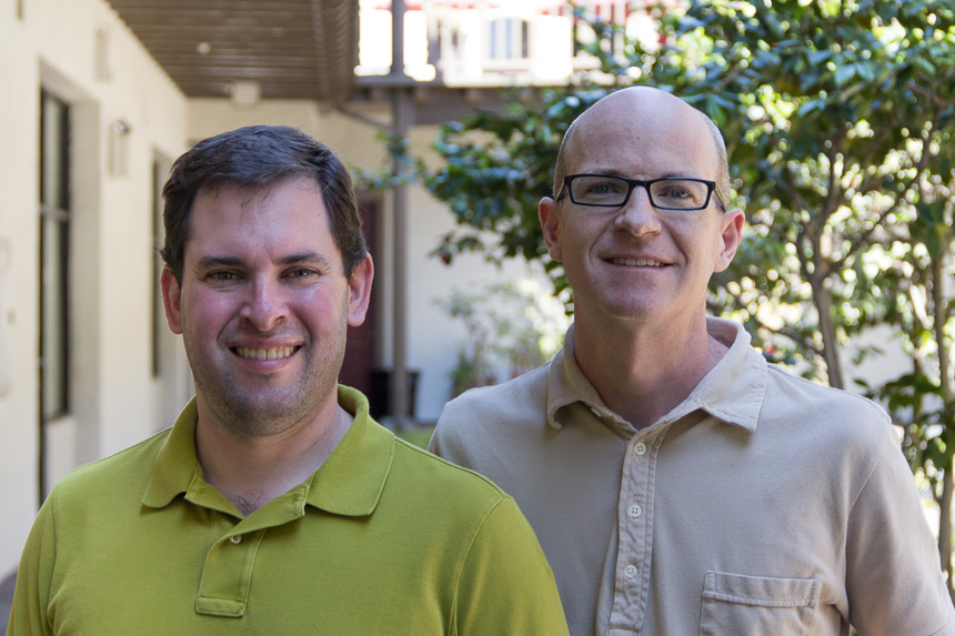 Pepperdata co-founders Sean Suchter and Chad Carson