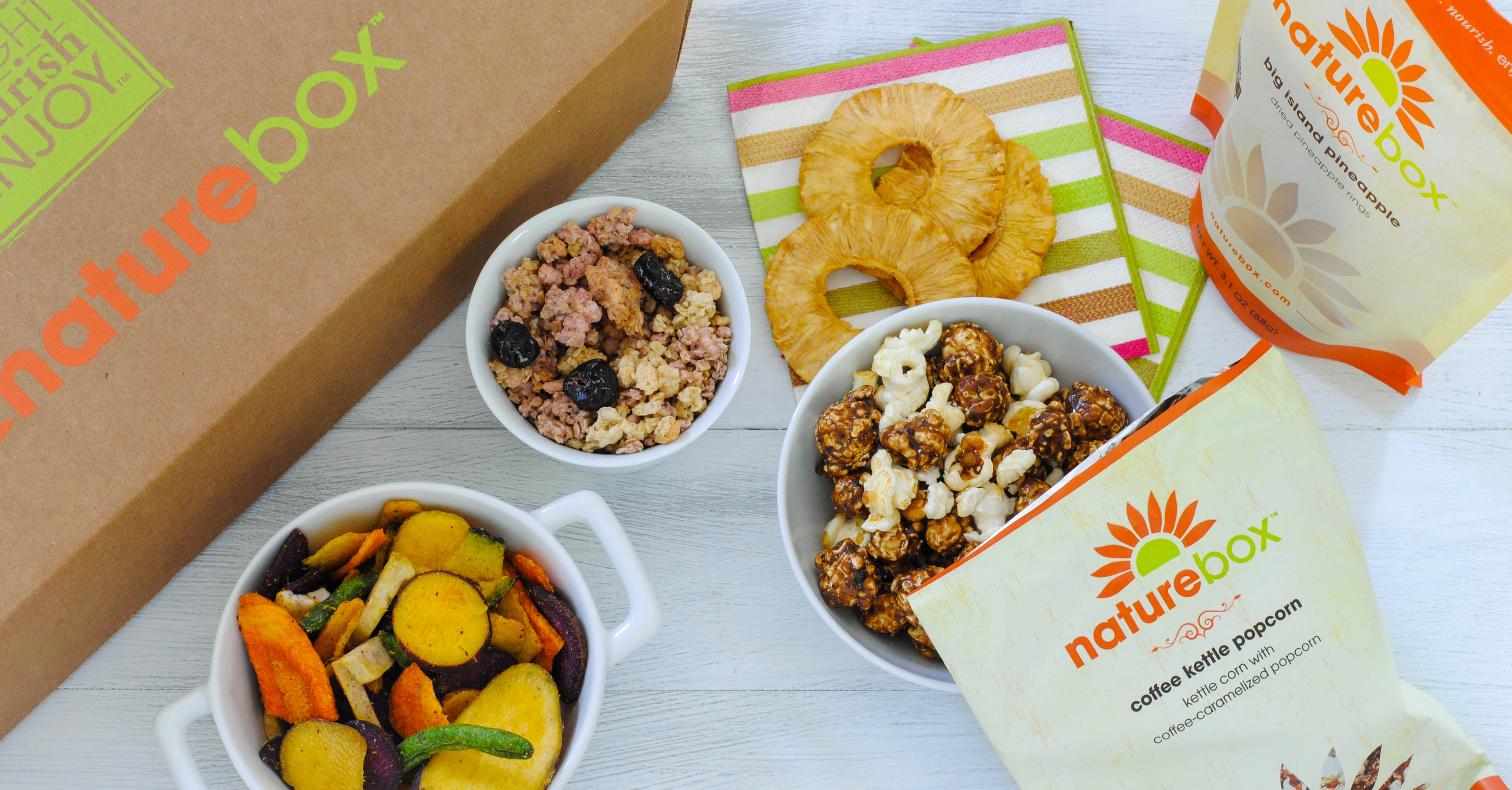 """Subscription snack provider NatureBox hopes to report """"hundreds of millions"""" in annual revenue over the next few years."""