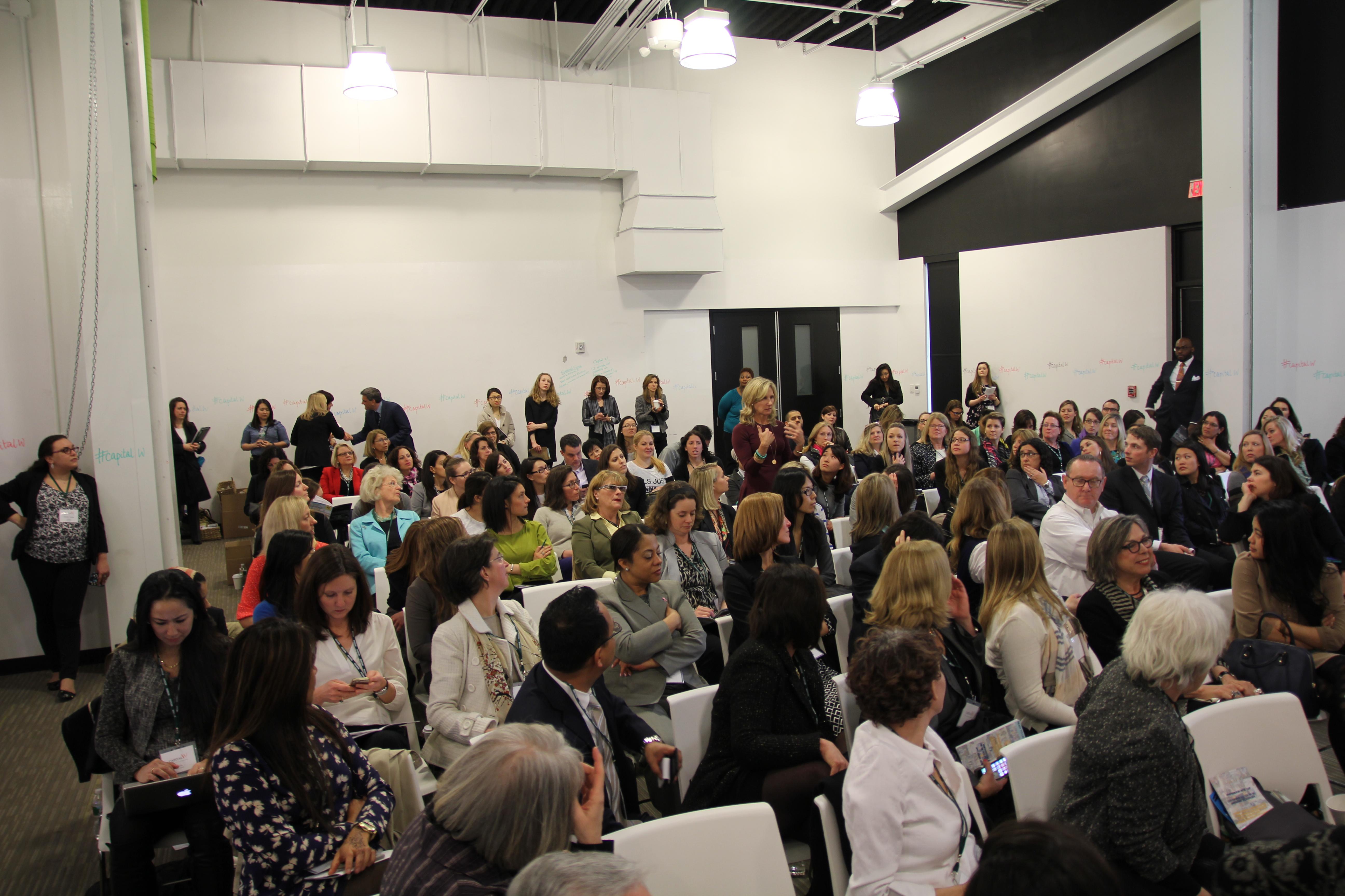 Aspiring female entrepreneurs and top investors gathered at the inaugural Boston Women's Venture Capital Summit.