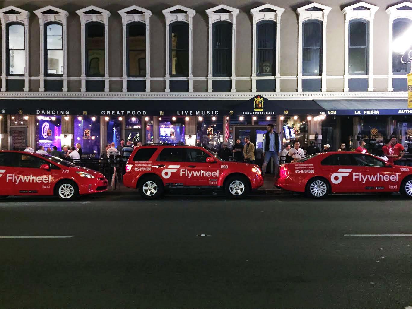 Flywheel's taxis.