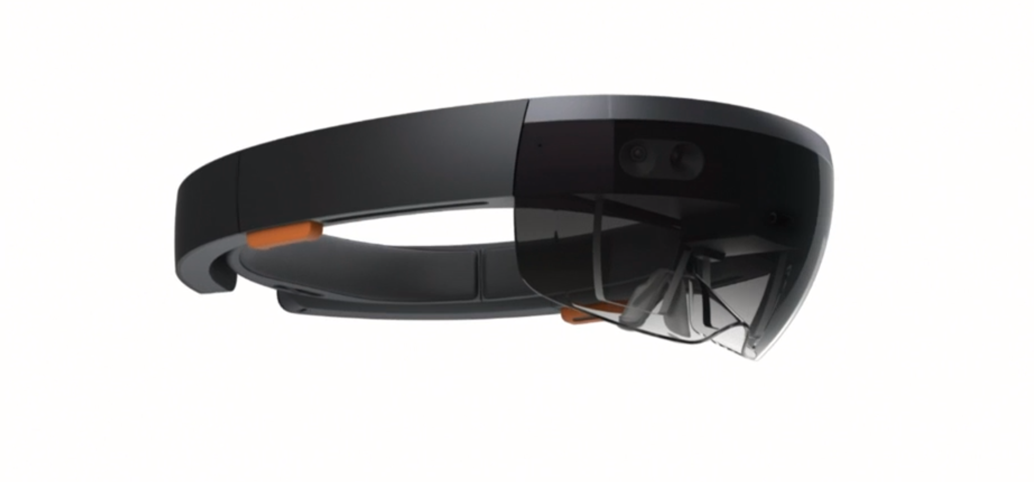 Microsoft HoloLens is one of a growing number of augmented reality headsets.