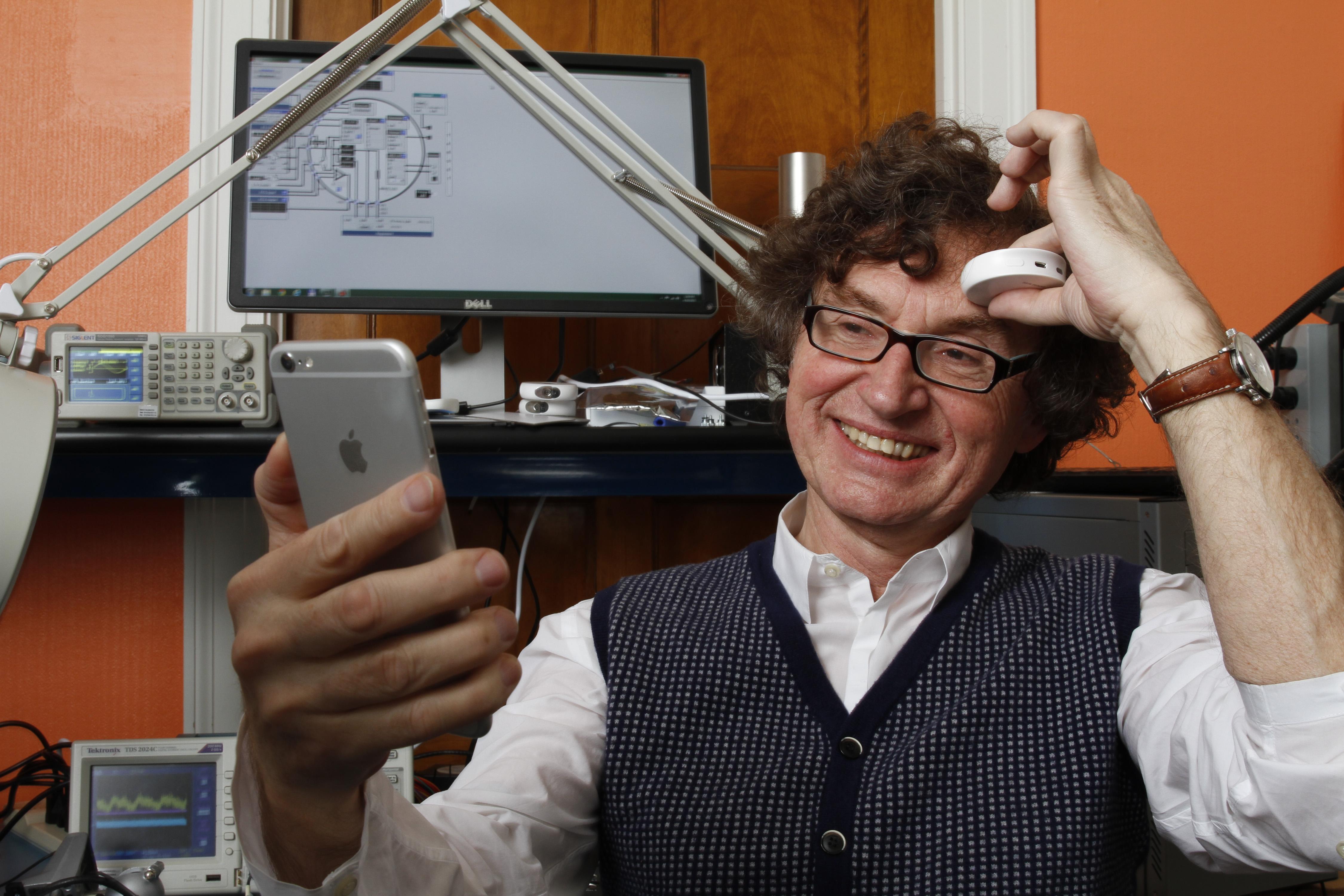 Scanadu CEO Walter De Brouwer.