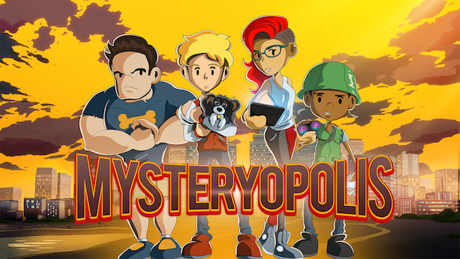 Anthony Zuiker's 'Mysteryopolis' is aimed at kids 4 to 10 years old.