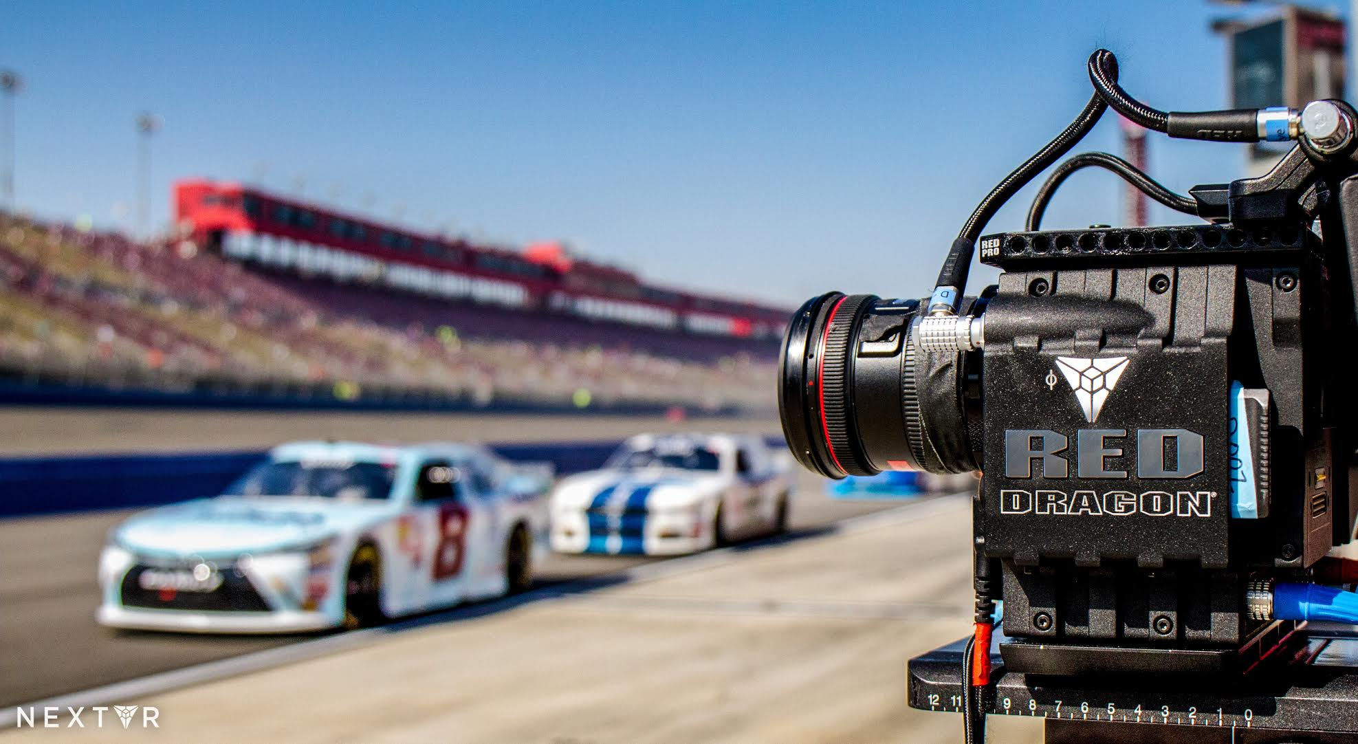 NextVR can capture sports like NASCAR, NBA and NHL in virtual reality