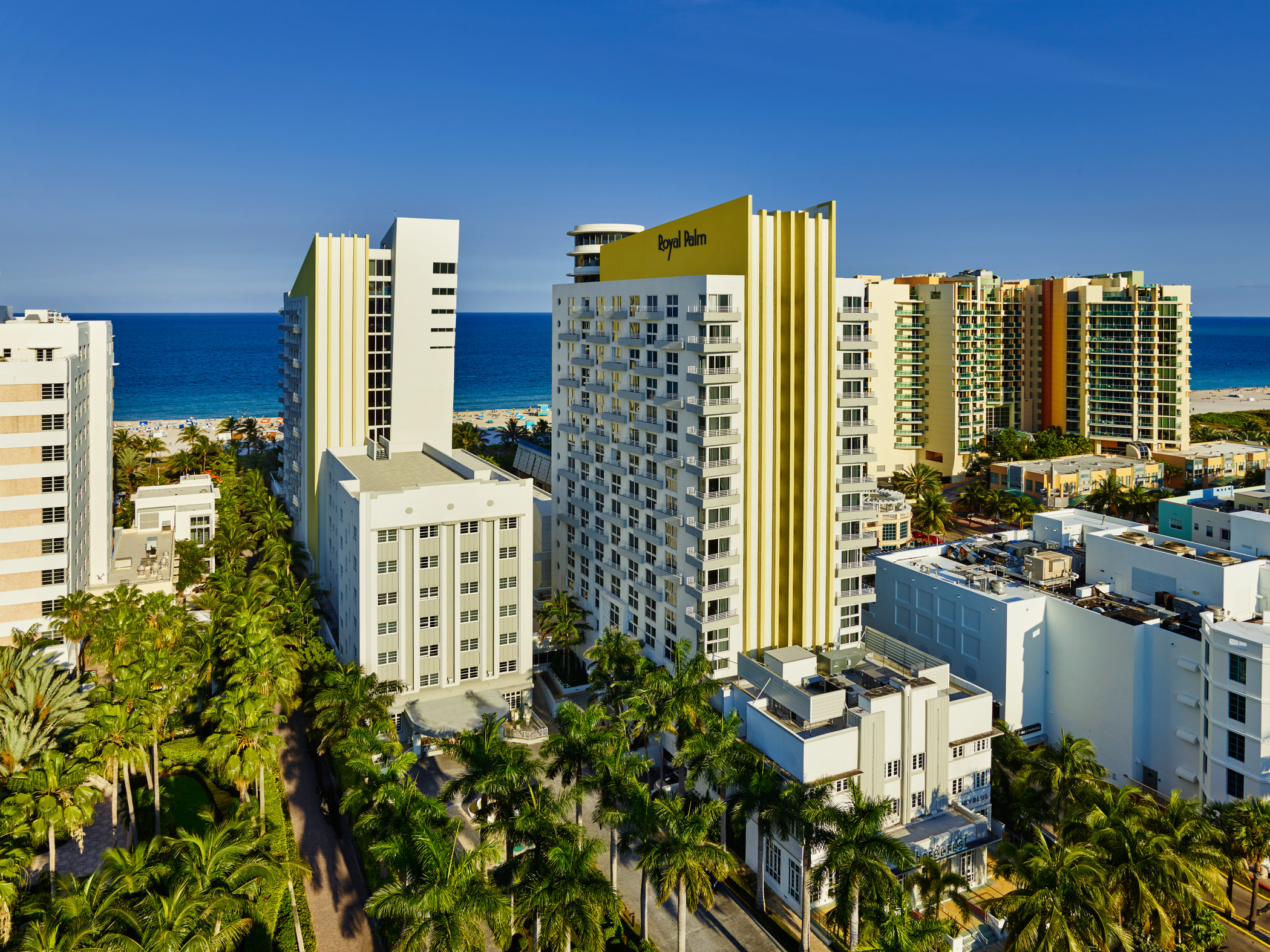 The Tribute portfolio is debuting on Thursday with its first featured hotel, the Royal Palm South Beach Miami.