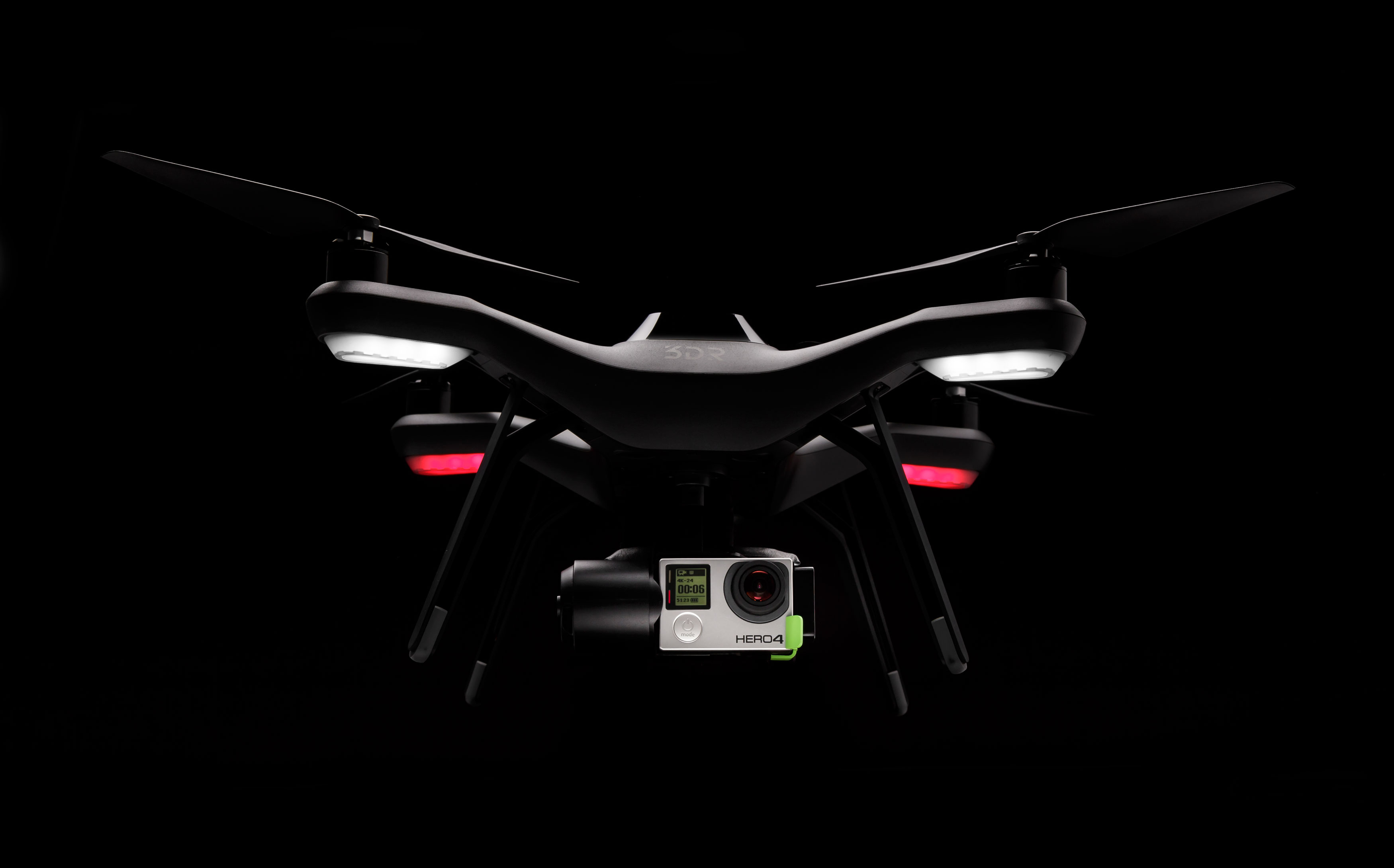 3D Robotics' Solo quadrotor drone.