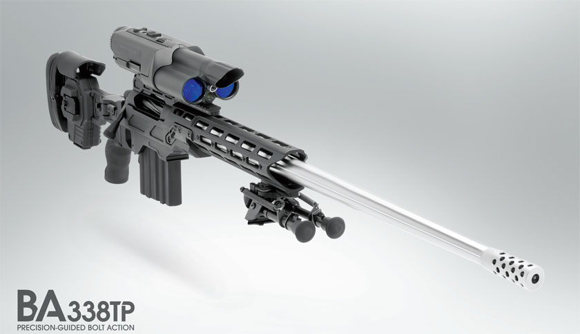 """The gun uses """"fighter jet lock-and-launch technology"""" and retails for $49,995."""