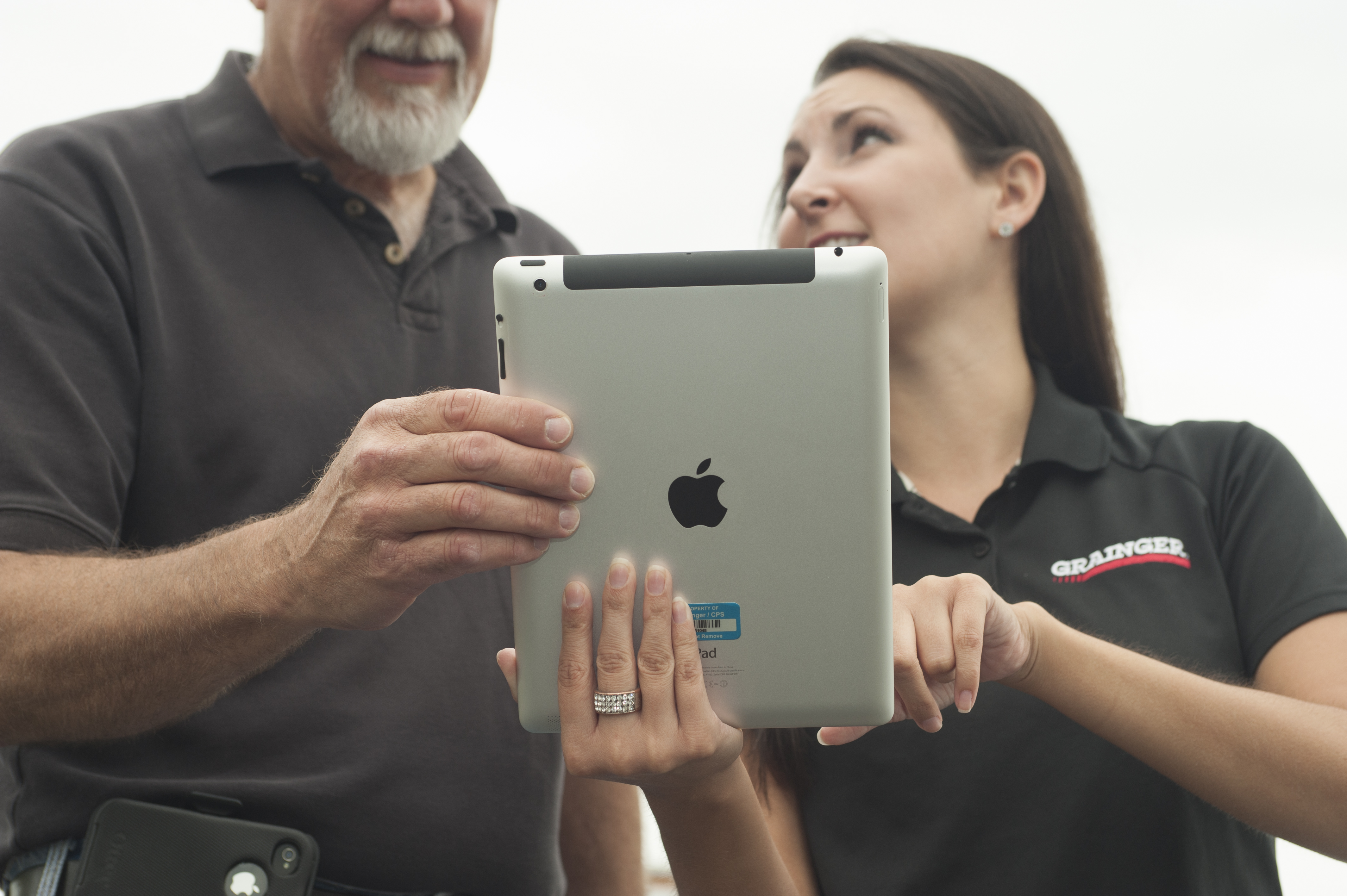 Grainger's iPad app allows customers to visually browse through thousands of products in seconds, with access to technical product specifications, real-time availability, easy checkout and more.