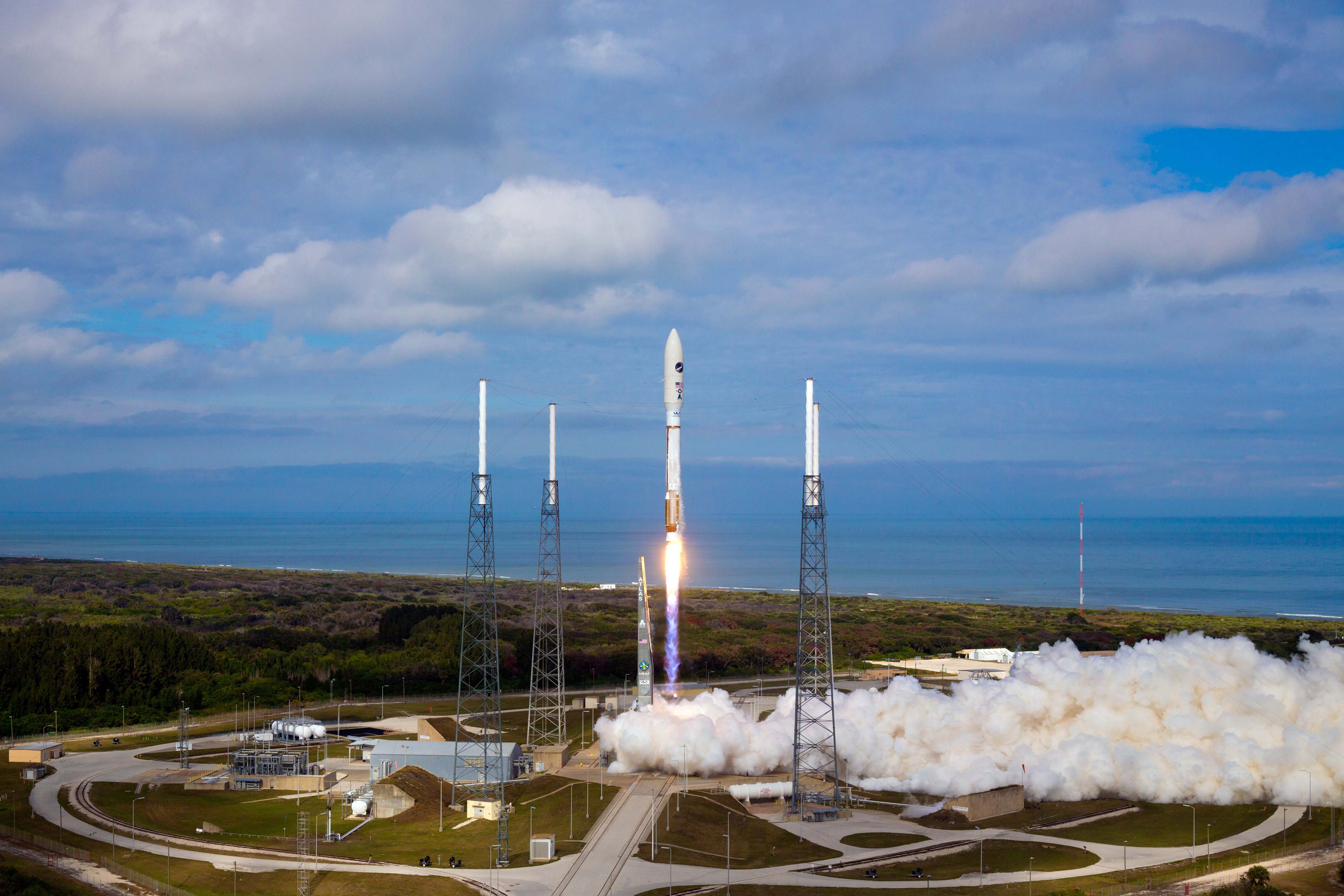 Launch of Atlas V OTV3 from Cape Canaveral AFS, FL. December 11,